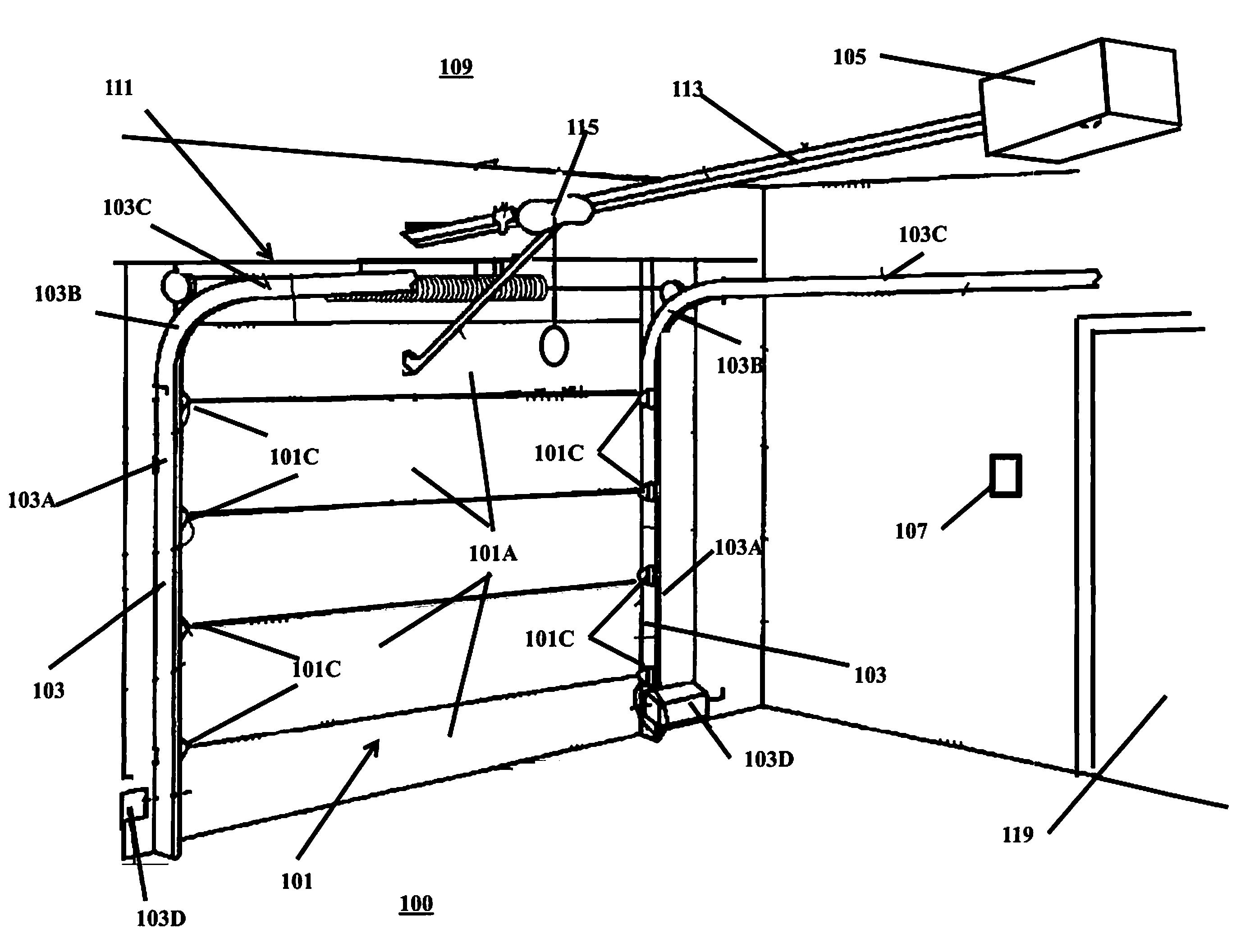 Patent Us8561348 Security Automatic Garage Door Closer