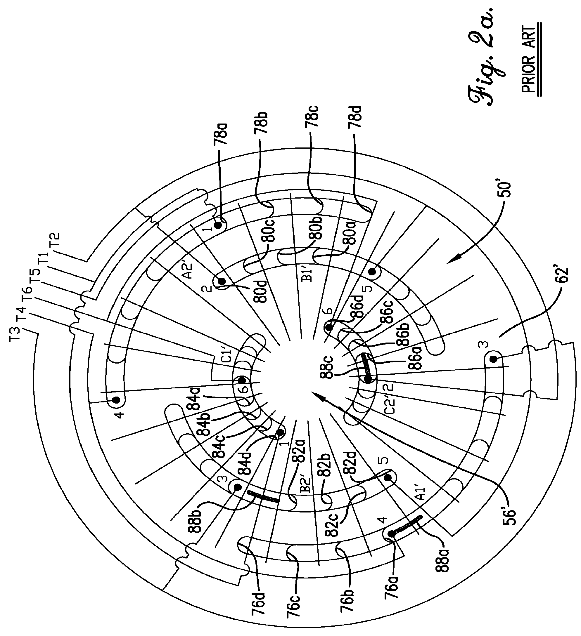 Patent Us8564167 3t Y Winding Connection For Three Phase