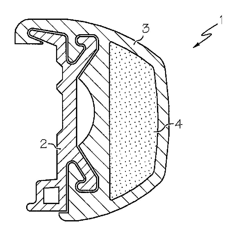 Patent US8567333 - Protective boat rub rail system - Google Patents