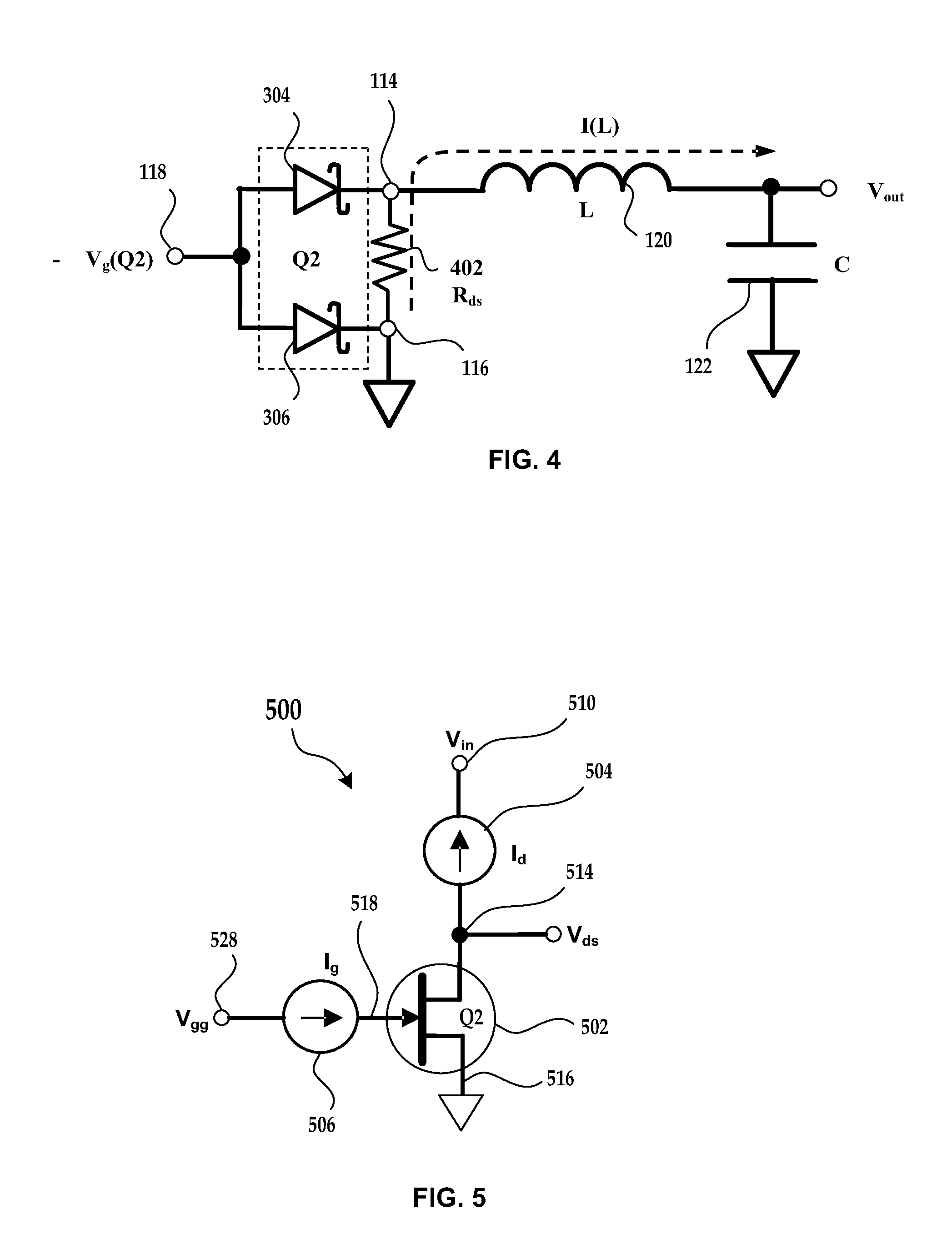 patent us8569811 - self clamping fet devices in circuits using transient sources