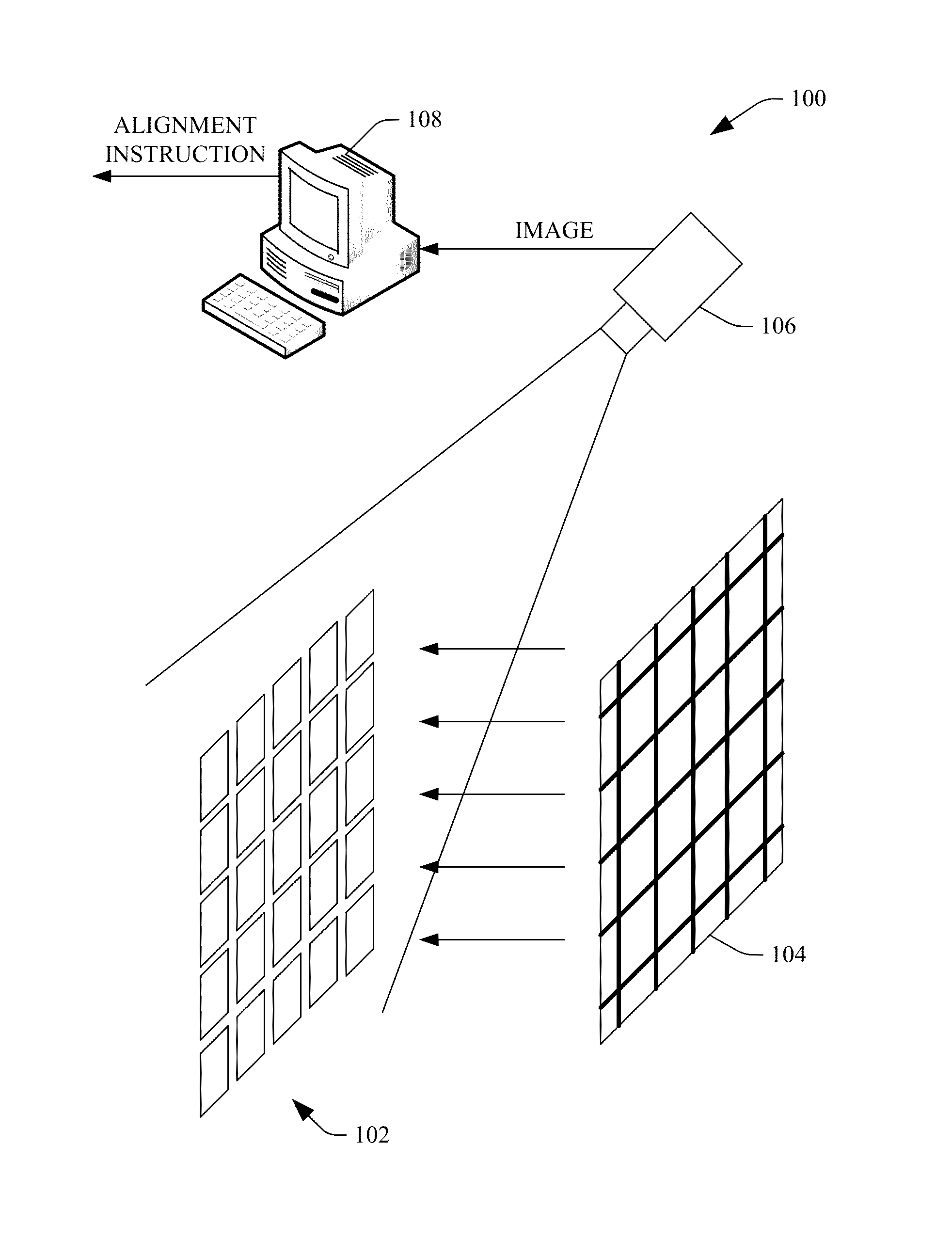 Patent Us8582092 Alignment And Focus Of Mirrored Facets A Clifford 5 806x Wiring Diagram Drawing