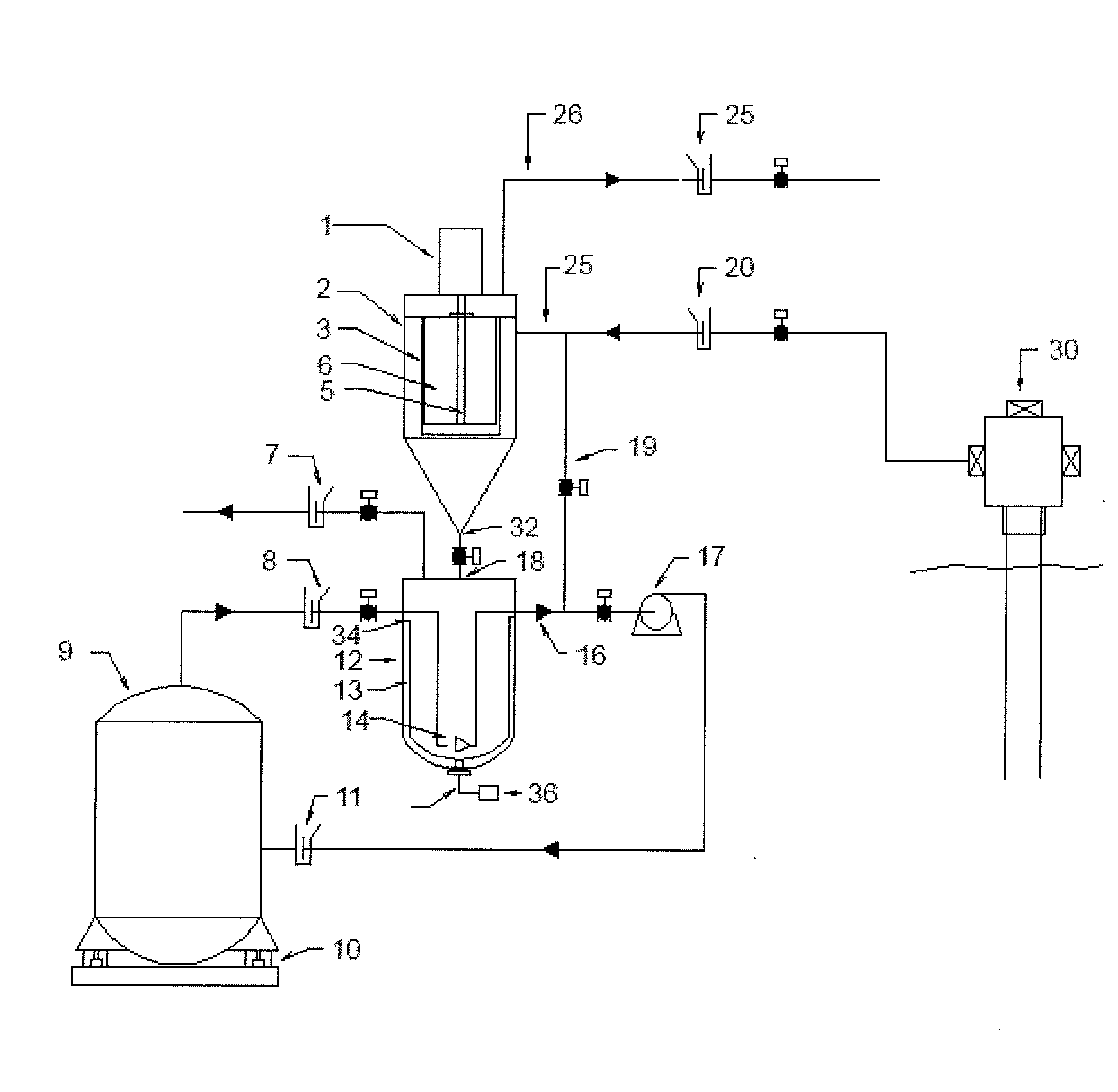 patent us8585893 particle collector with weight measuring Water Well Sand Filter patent drawing