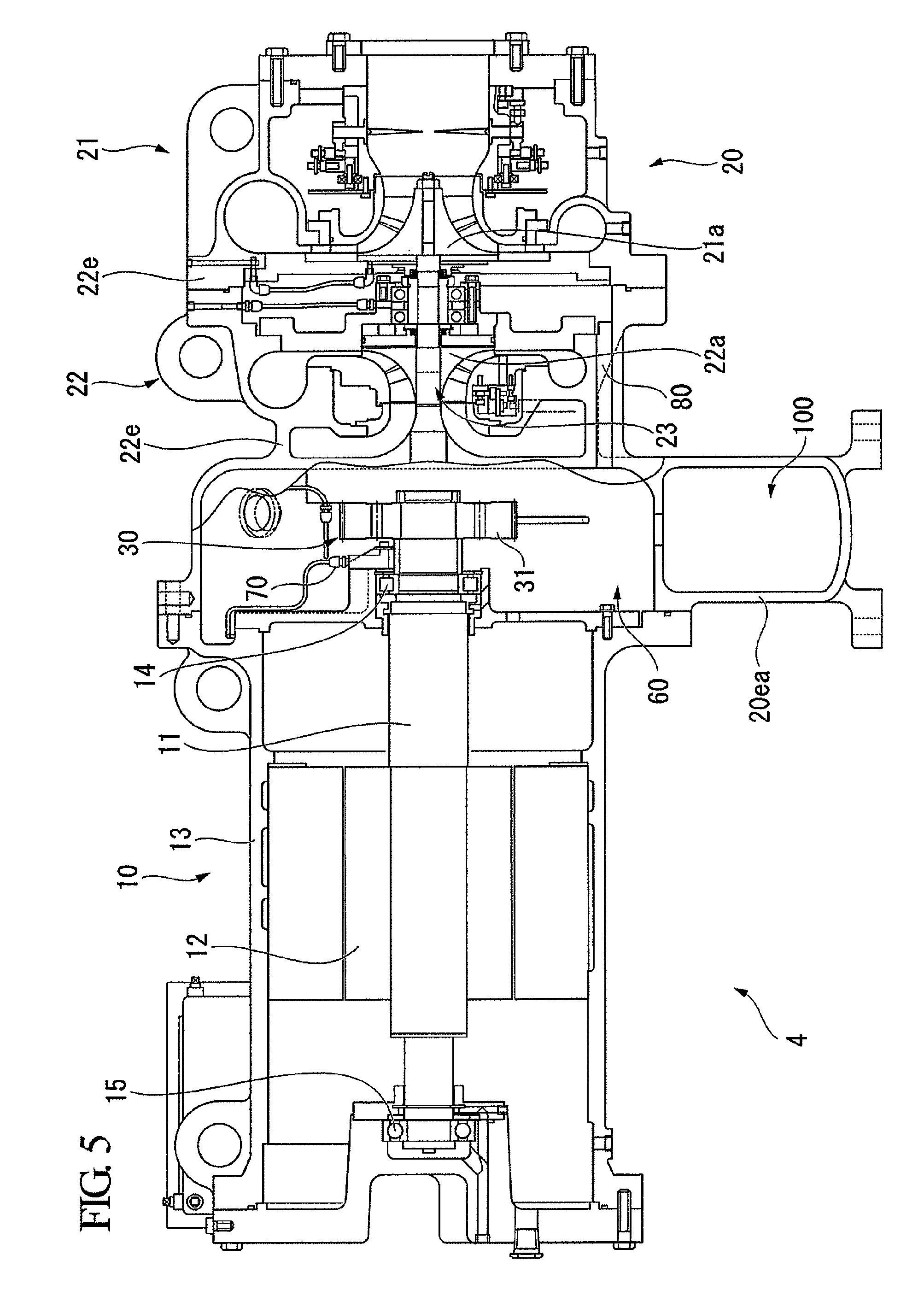 Patent Us8590323 Turbo Compressor And Refrigerator Google Patents On This Turbocharger Diagram You Can See How The Impeller Connects Drawing