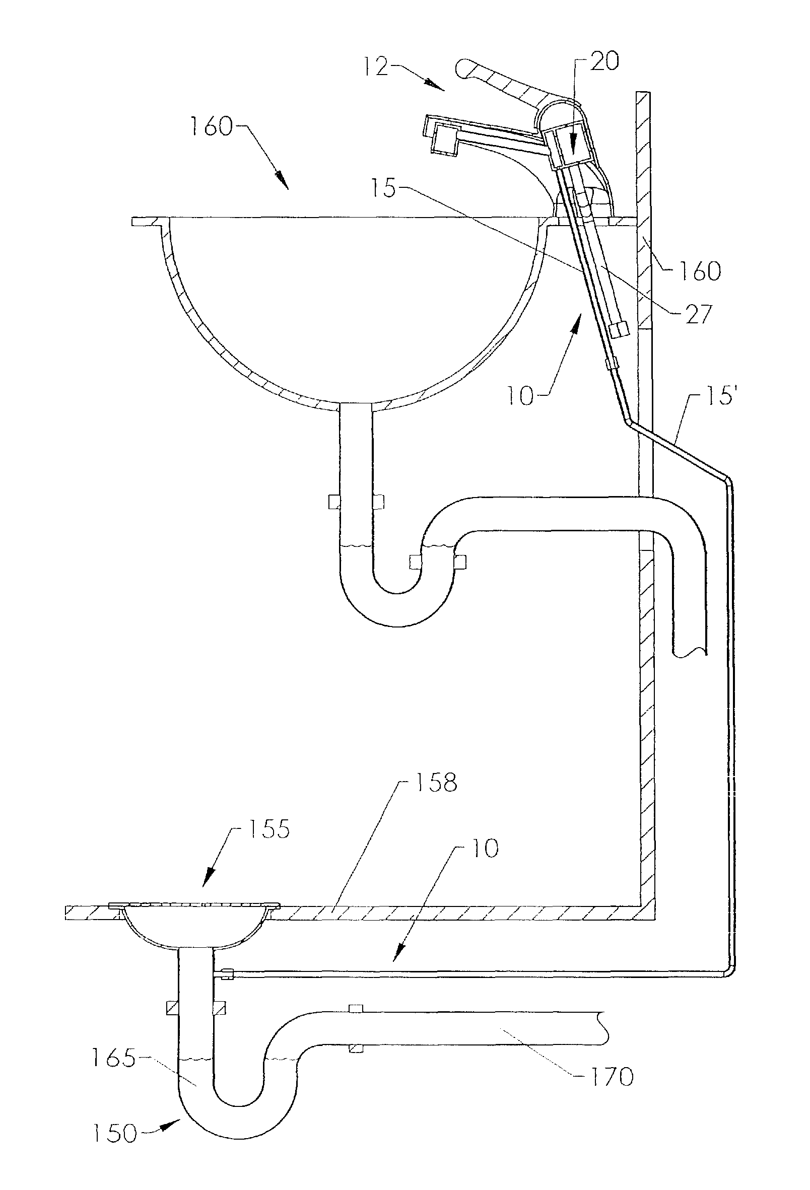 Patent Us8602051 Trap Primer System For Floor Drains