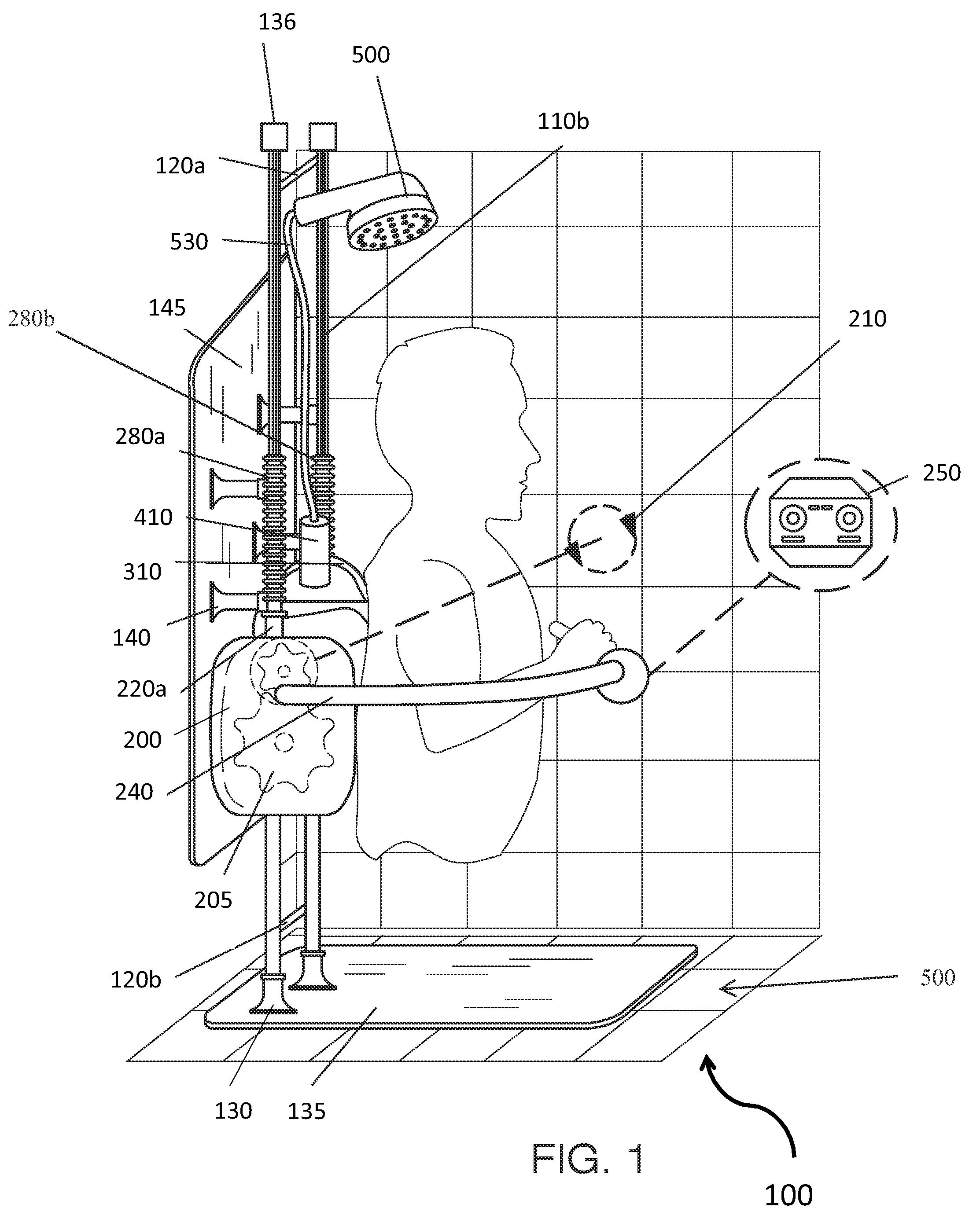 Patent Us8621679 Motorized Back Scrubber Device Google