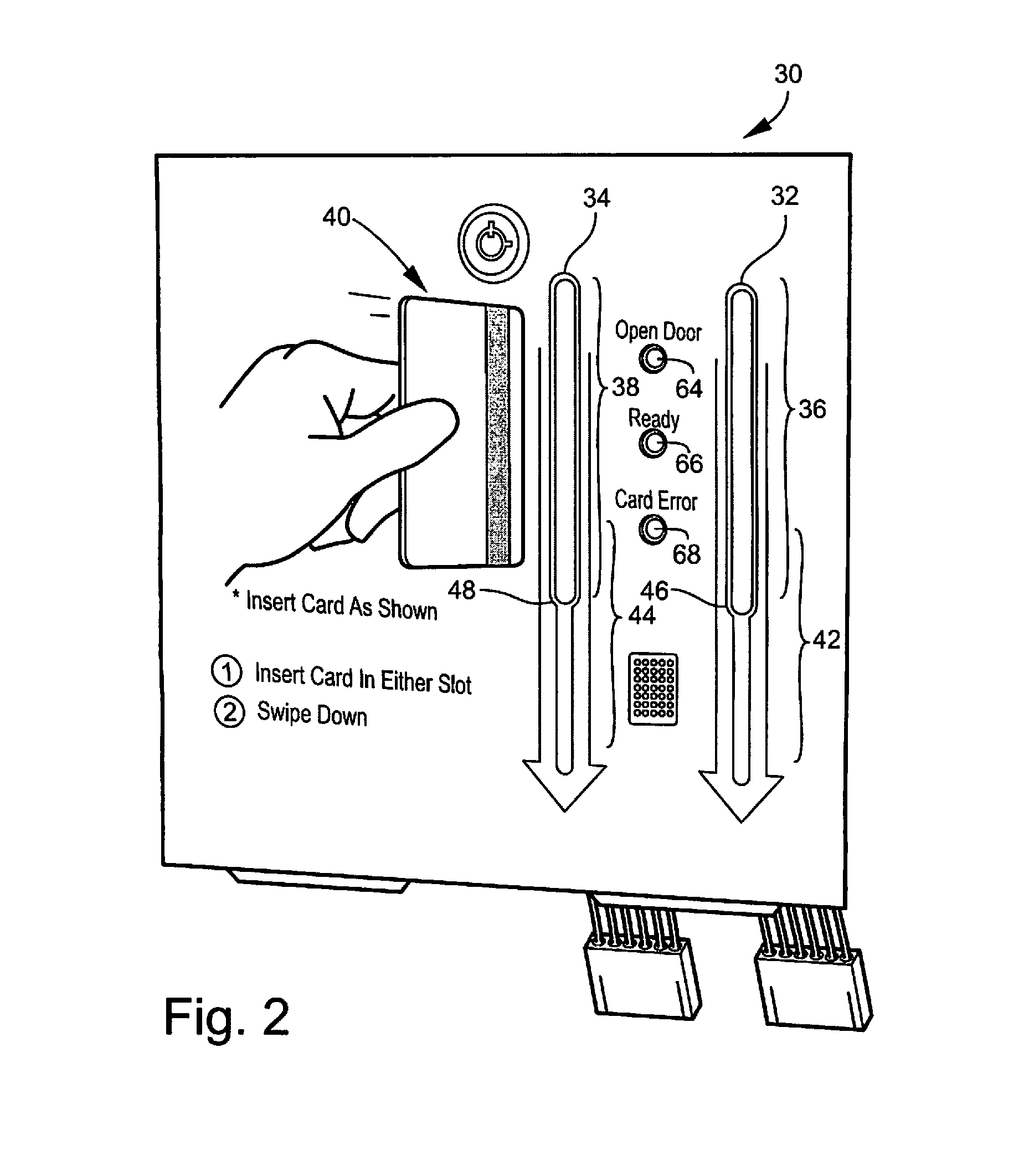 card swipe wiring diagram