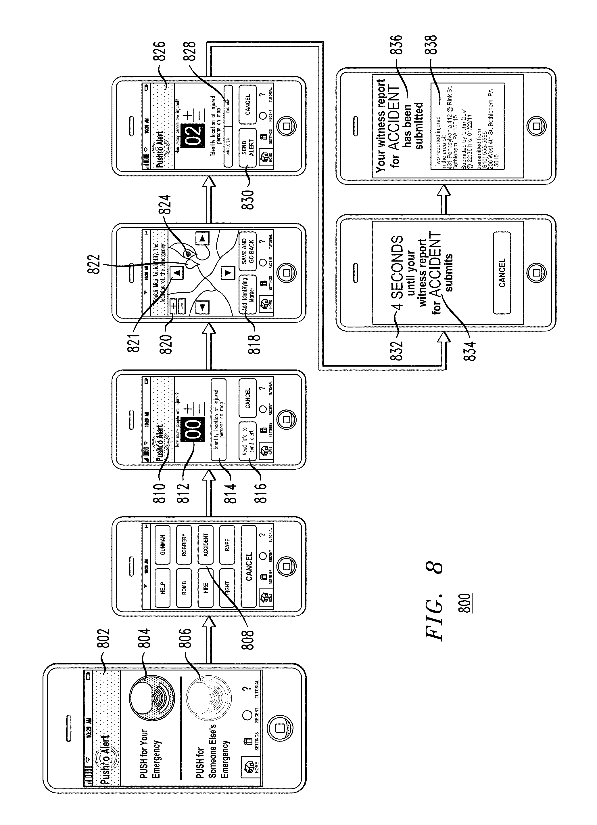 Patent Us8624727 Personal Safety Mobile Notification System Induction Cooker Circuit Diagram Drawing