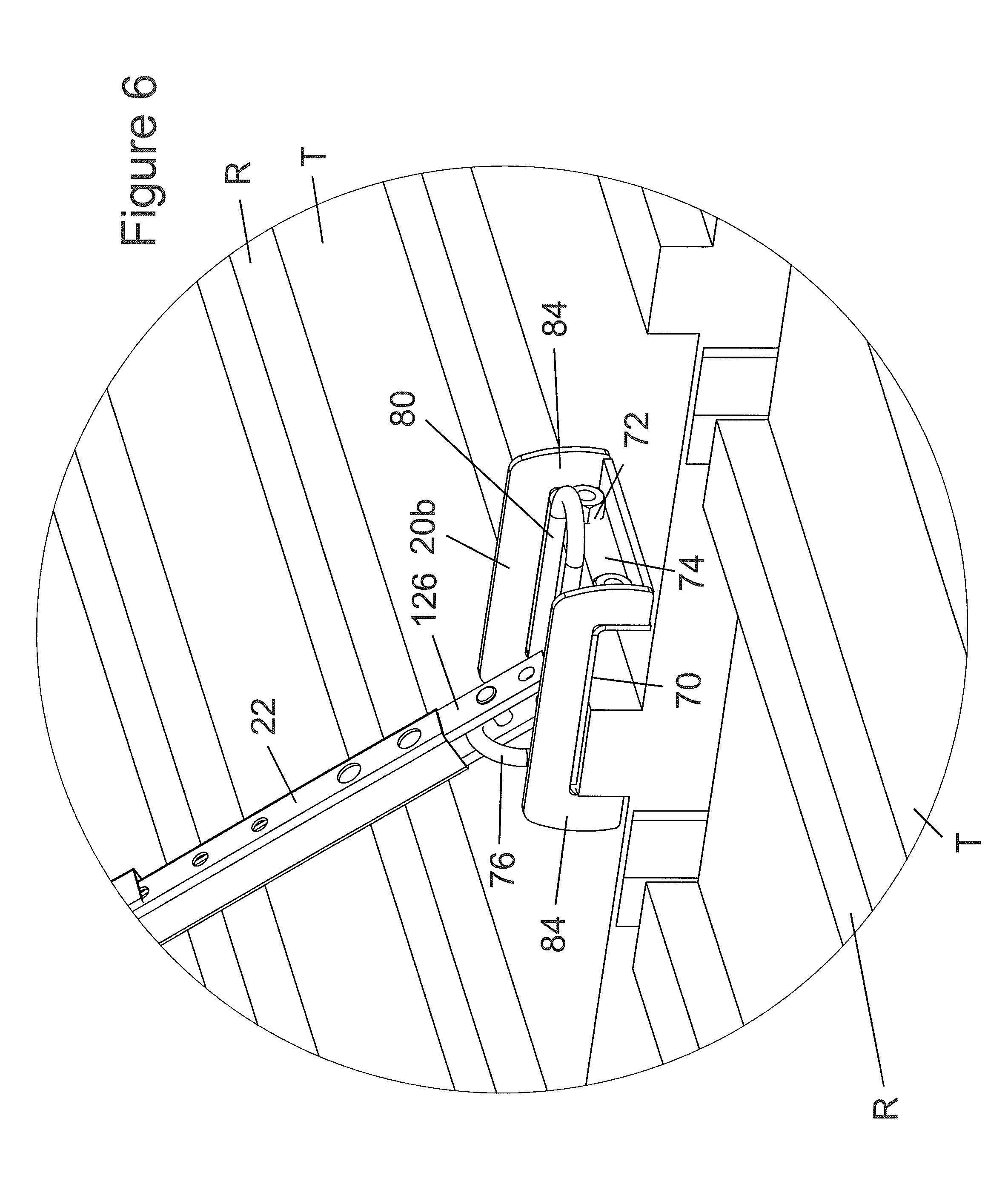 patent us8627923 tank lifeline system patents Frac Tank Storage patent drawing