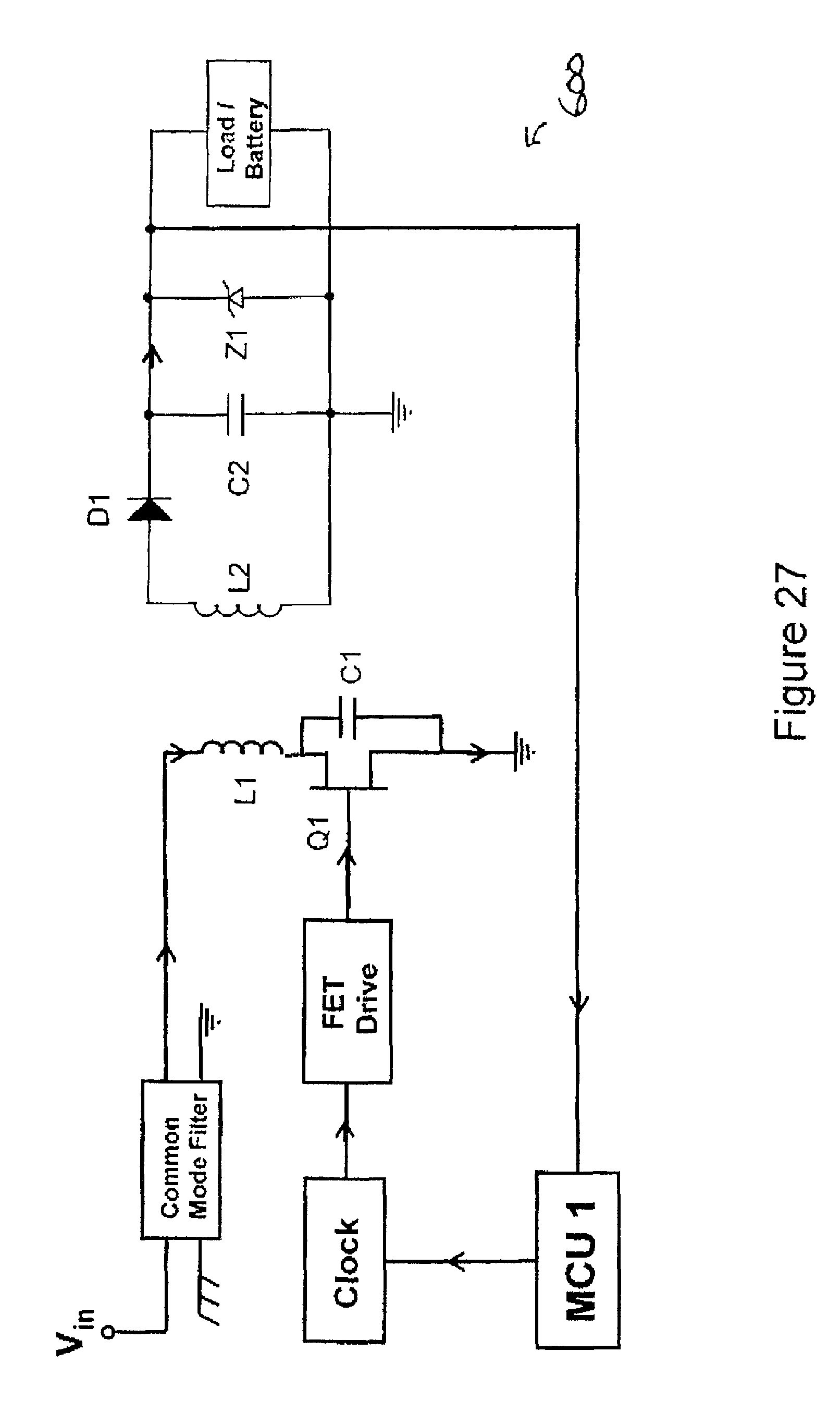 Patent Us8629654 System And Method For Inductive Charging Of Led Pulse Flasher Circuit Also On Faraday Flashlight Schematic Drawing