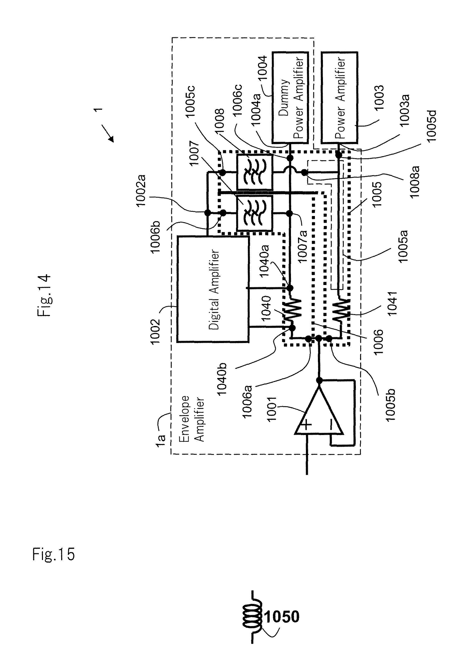 Patent Us8633768 Amplifying Device Google Patents Envelope Schematic Drawing