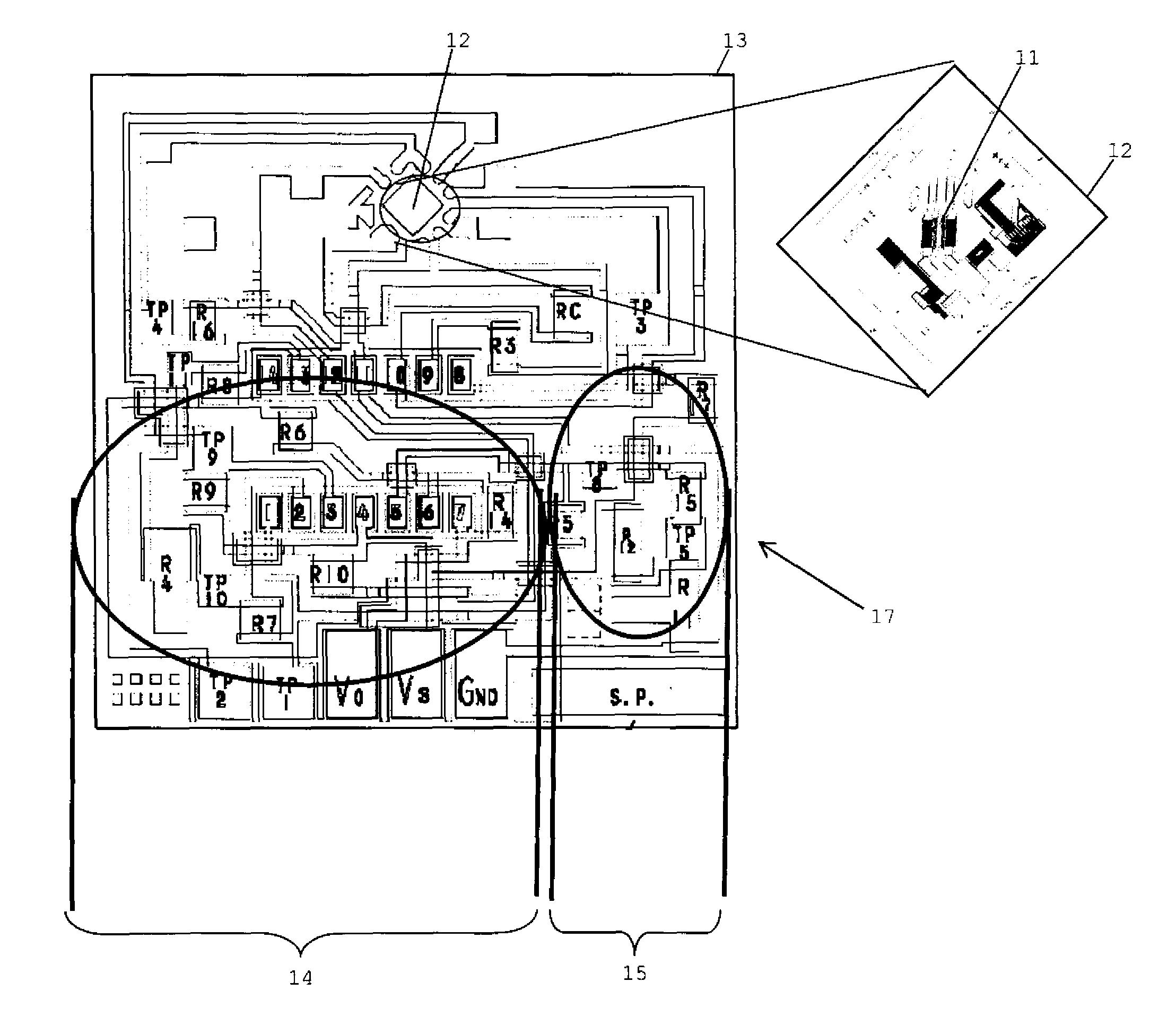 patent us8640552 mems airflow sensor die incorporating additional Oxygen Flow Sensor patent drawing