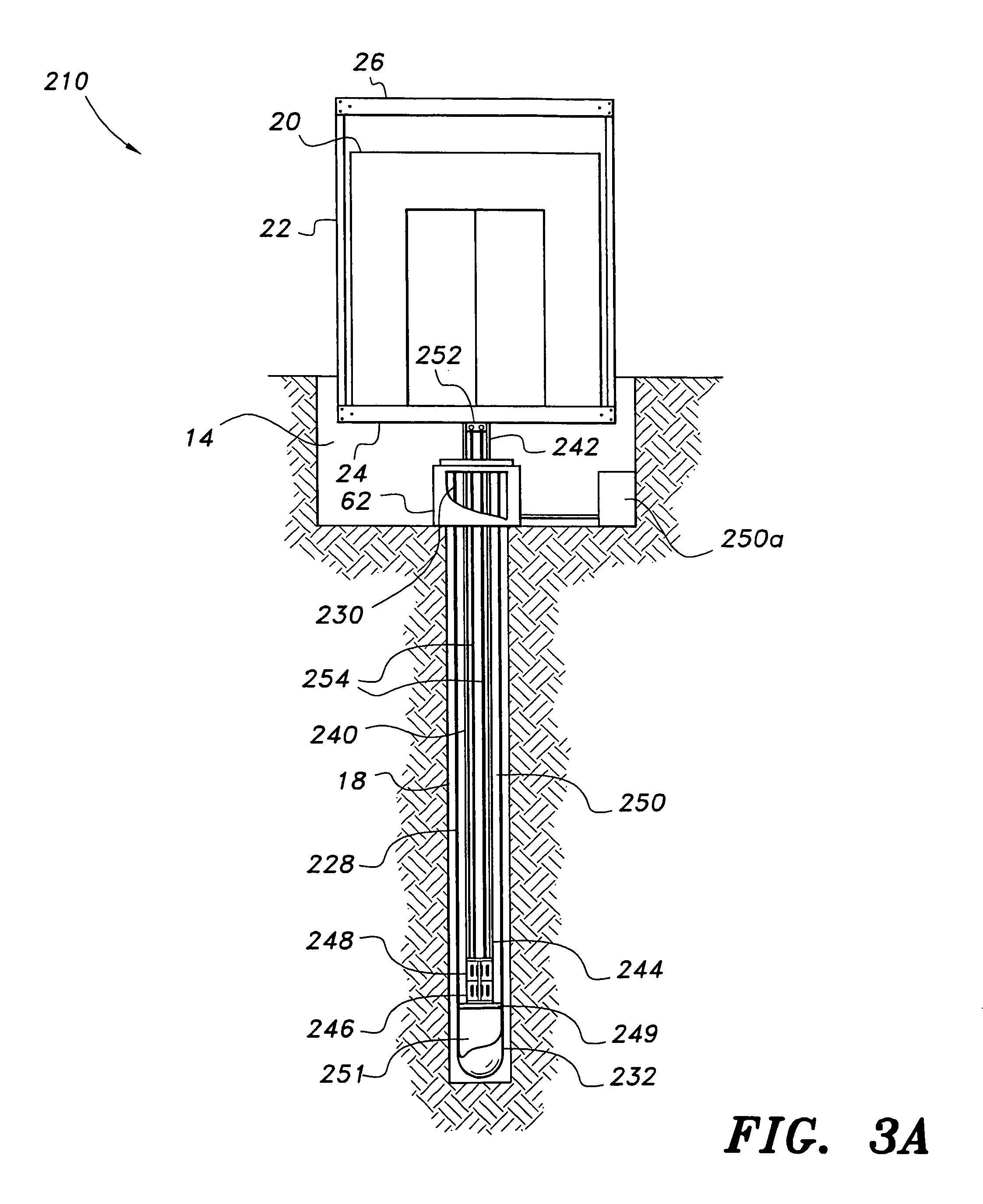 patent us8640829 hydraulic elevator system google patents. Black Bedroom Furniture Sets. Home Design Ideas