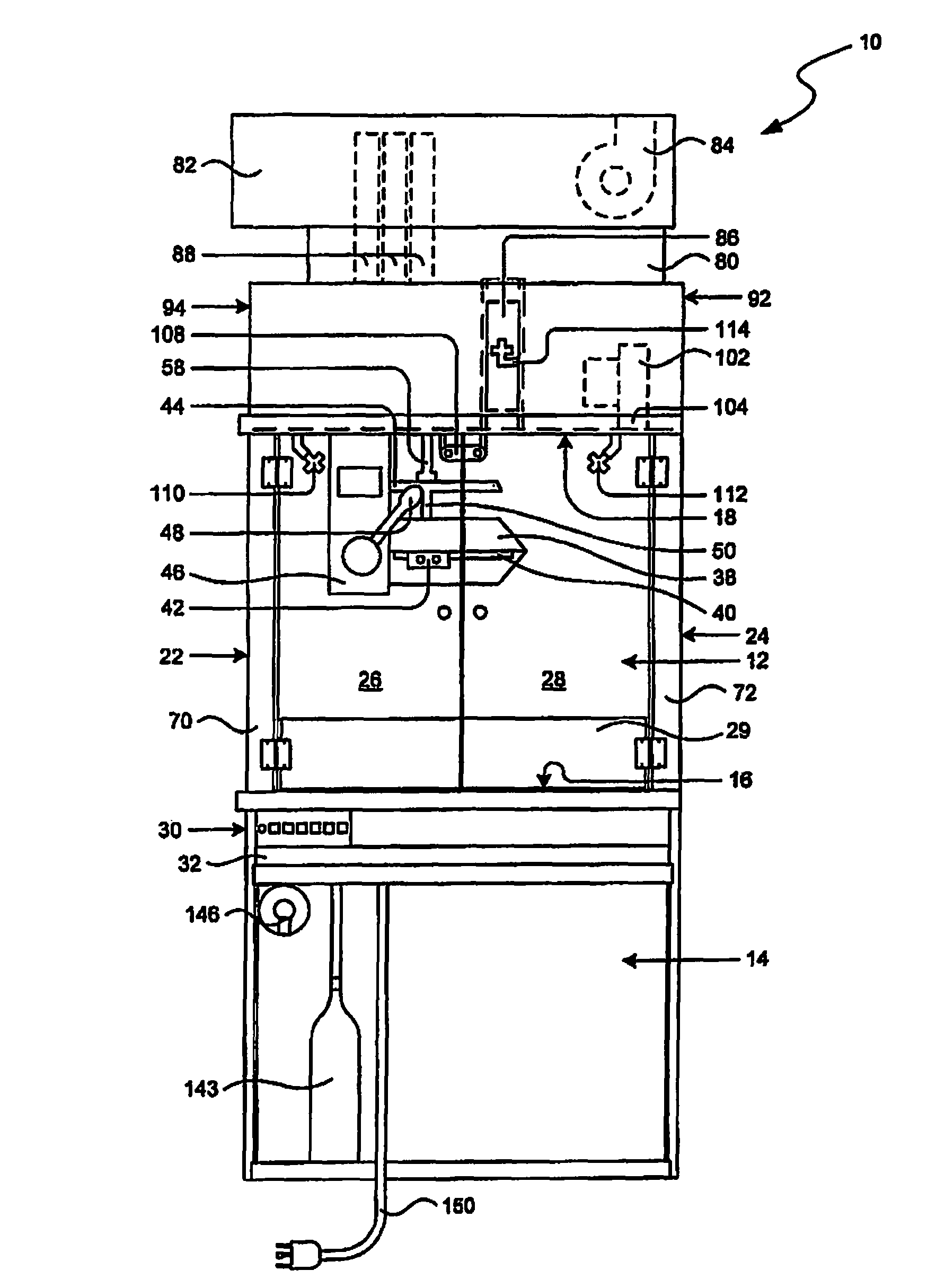 Patent Us8651014 - Fire Containment System