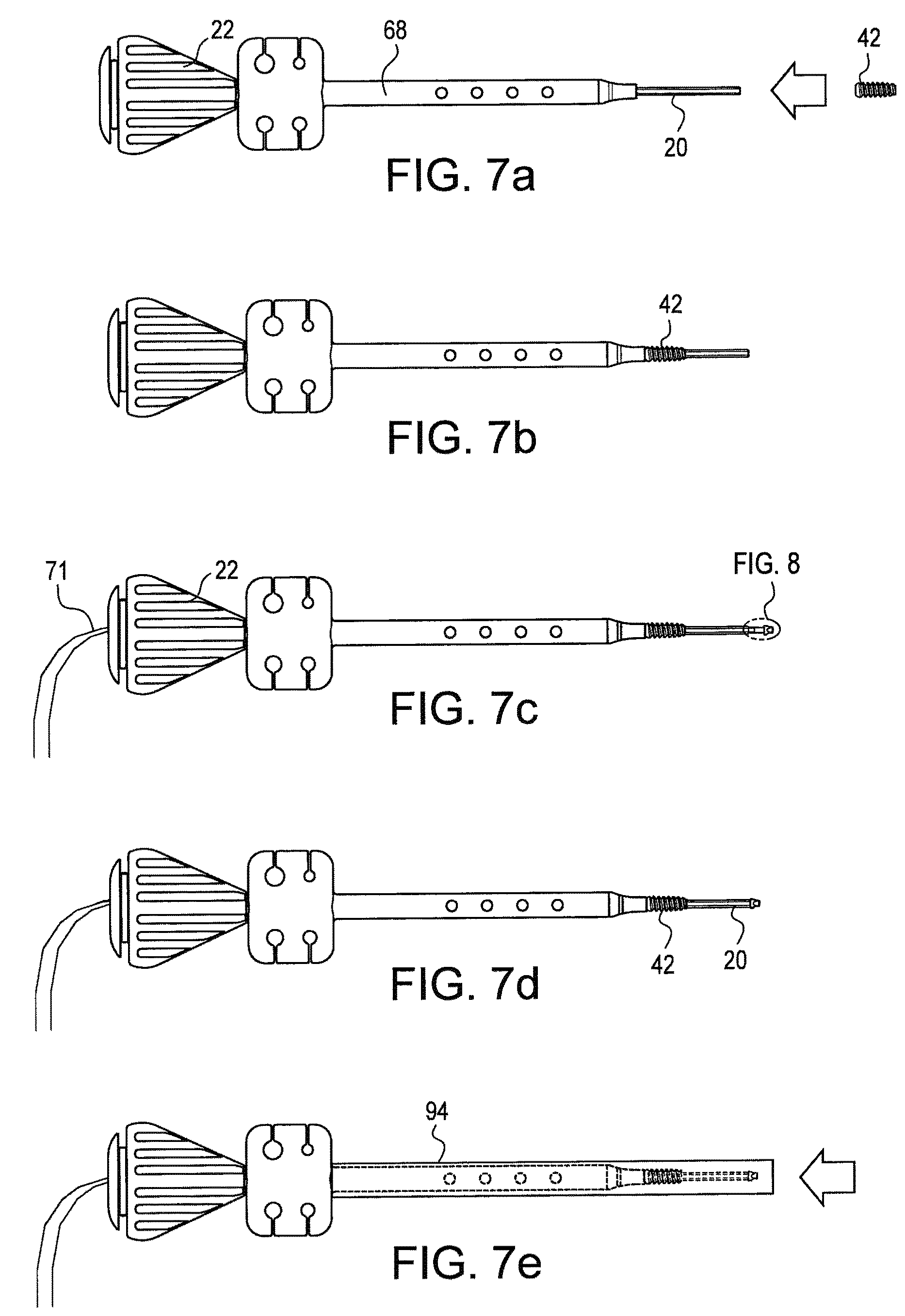 patent us swivel anchor for knotless fixation of tissue  patent drawing