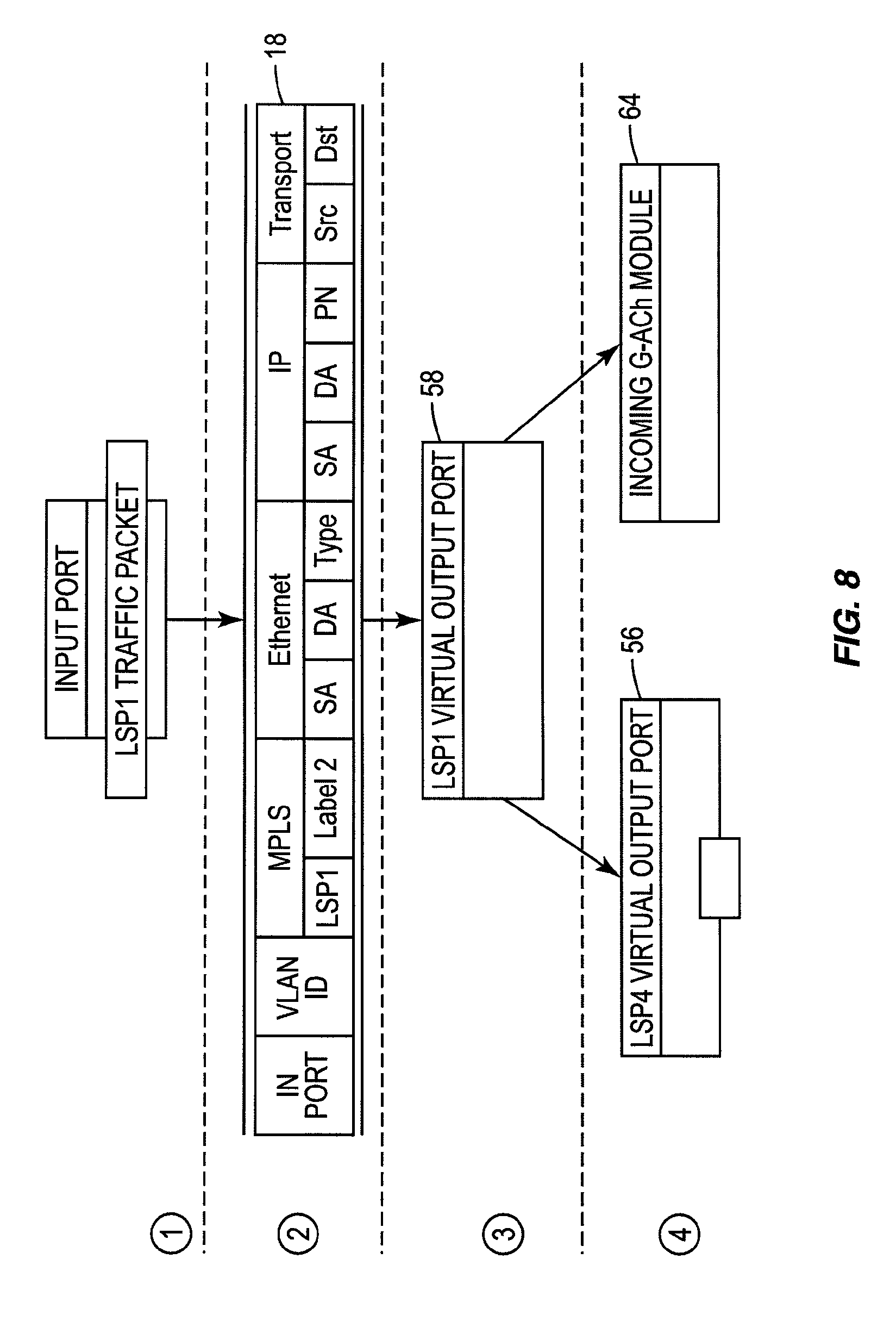 Patent Us8665699 Link Failure Detection And Traffic Redirection In Bfd Block Flow Diagram Example Drawing