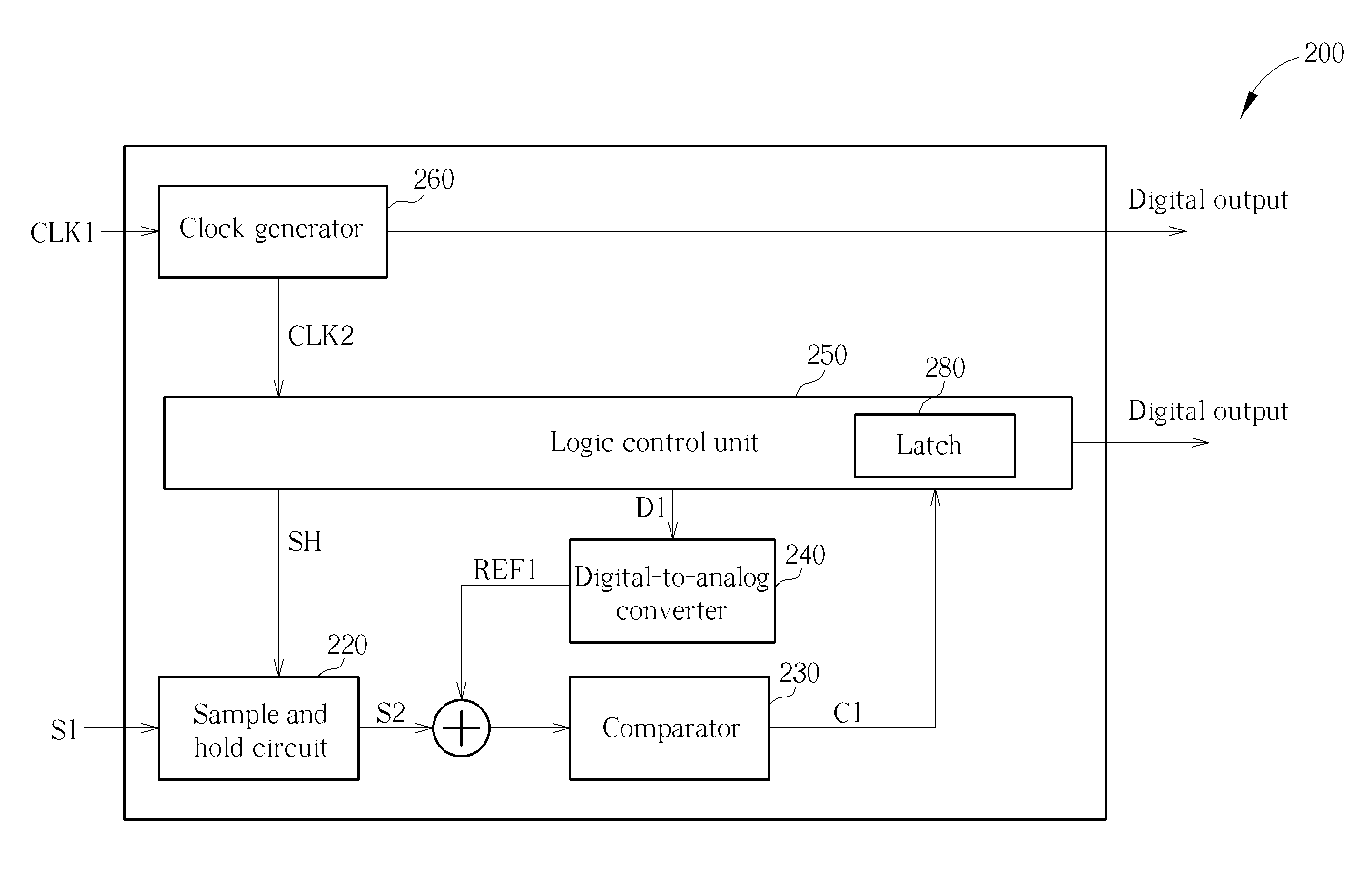 Patent Us8669897 Asynchronous Successive Approximation Register Approximate Adc Circuit Diagram Drawing
