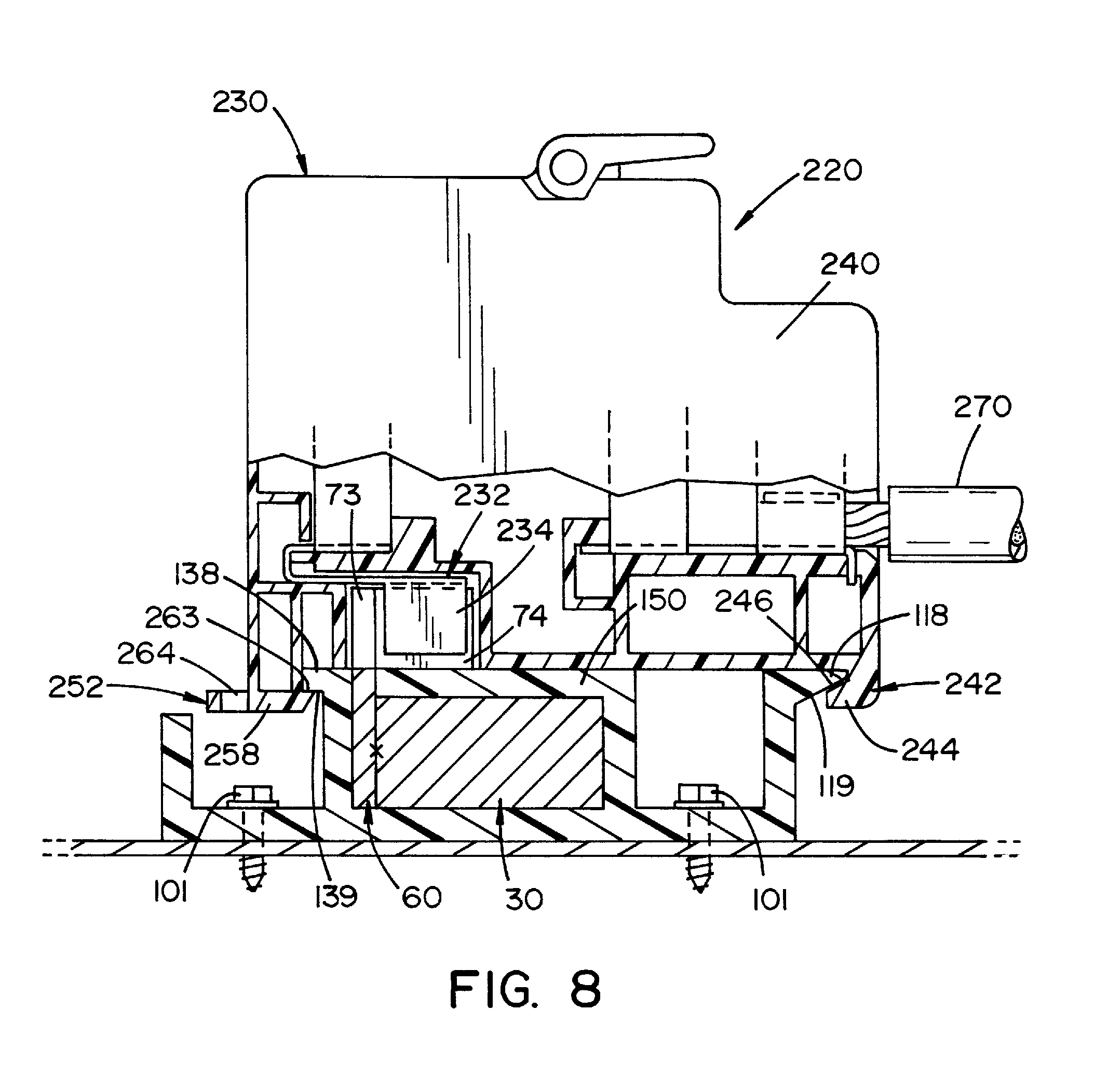 patent us8684758 terminal unit having fused biner distribution PCB Terminal Block patent drawing