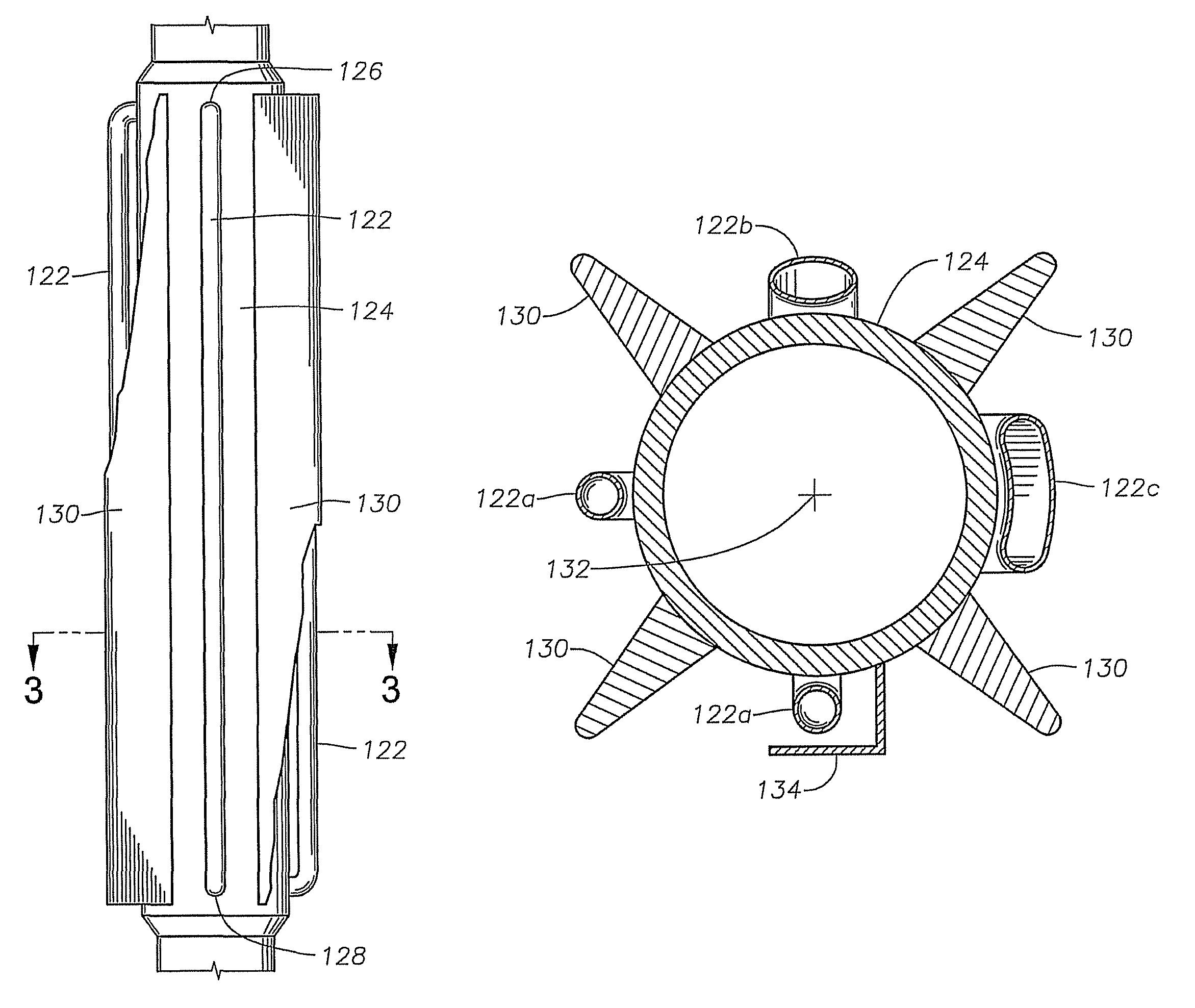 Patente US8696327 - Submersible pump motor cooling through external