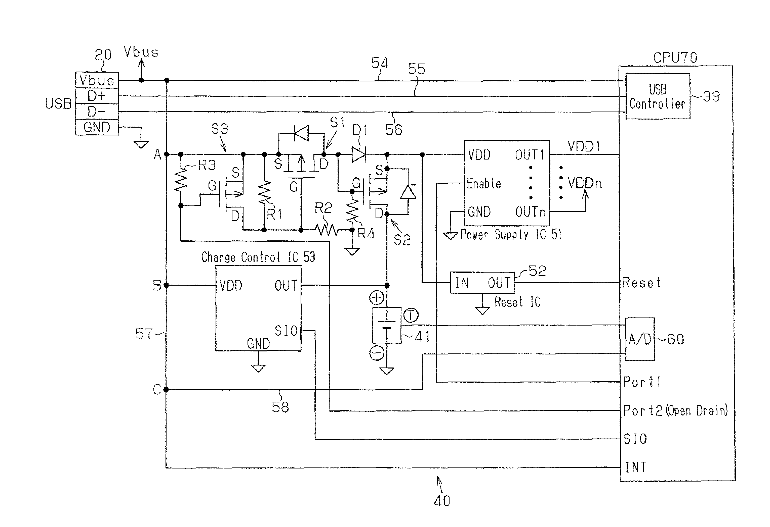 Patent Us8698460 Charger That Charges Rechargeable Battery Circuit Diagram Powersupplycircuit Drawing