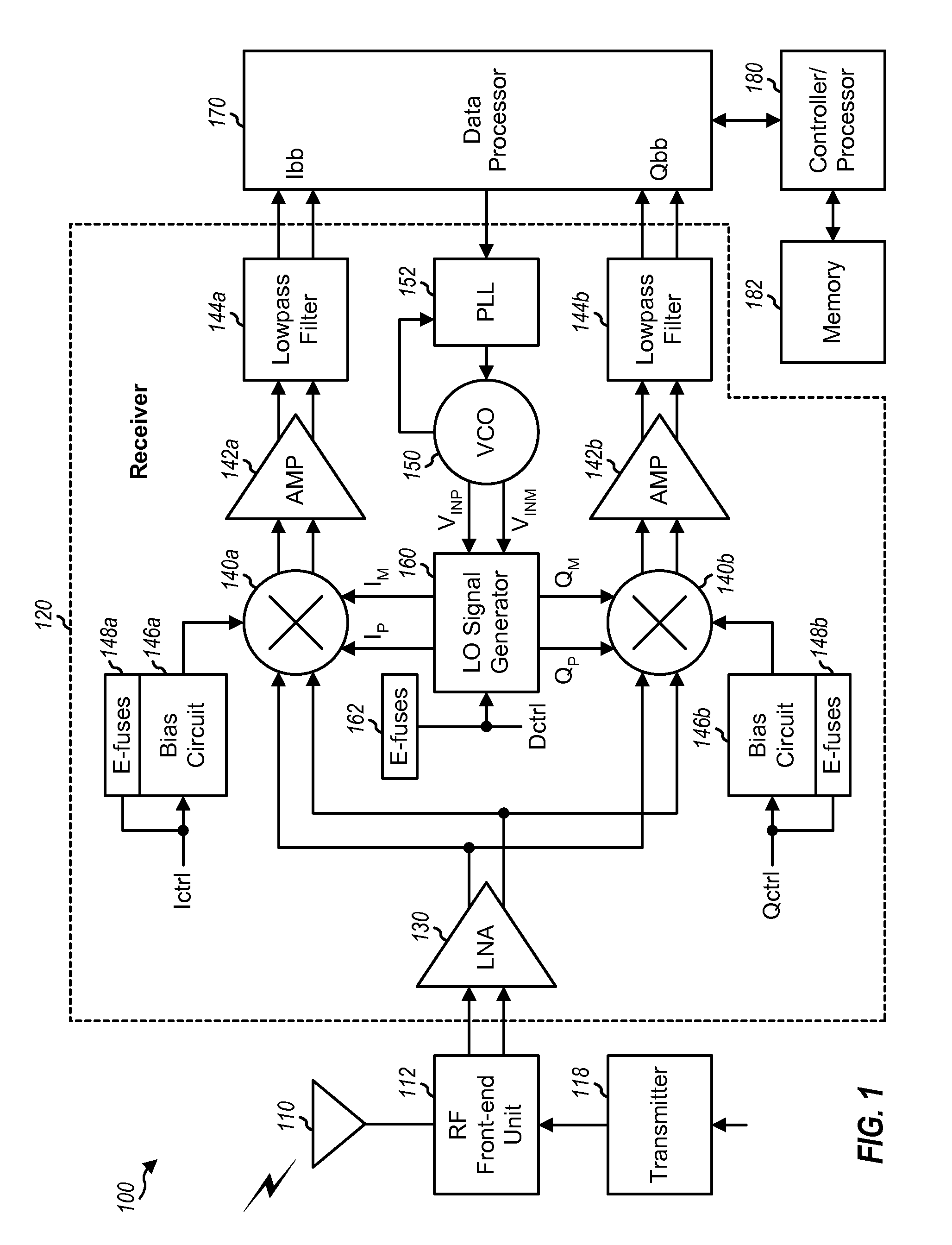 Patent Us8712357 Lo Generation With Deskewed Input Oscillator Tv Remote Control Jammer Circuit Diagram Super Drawing