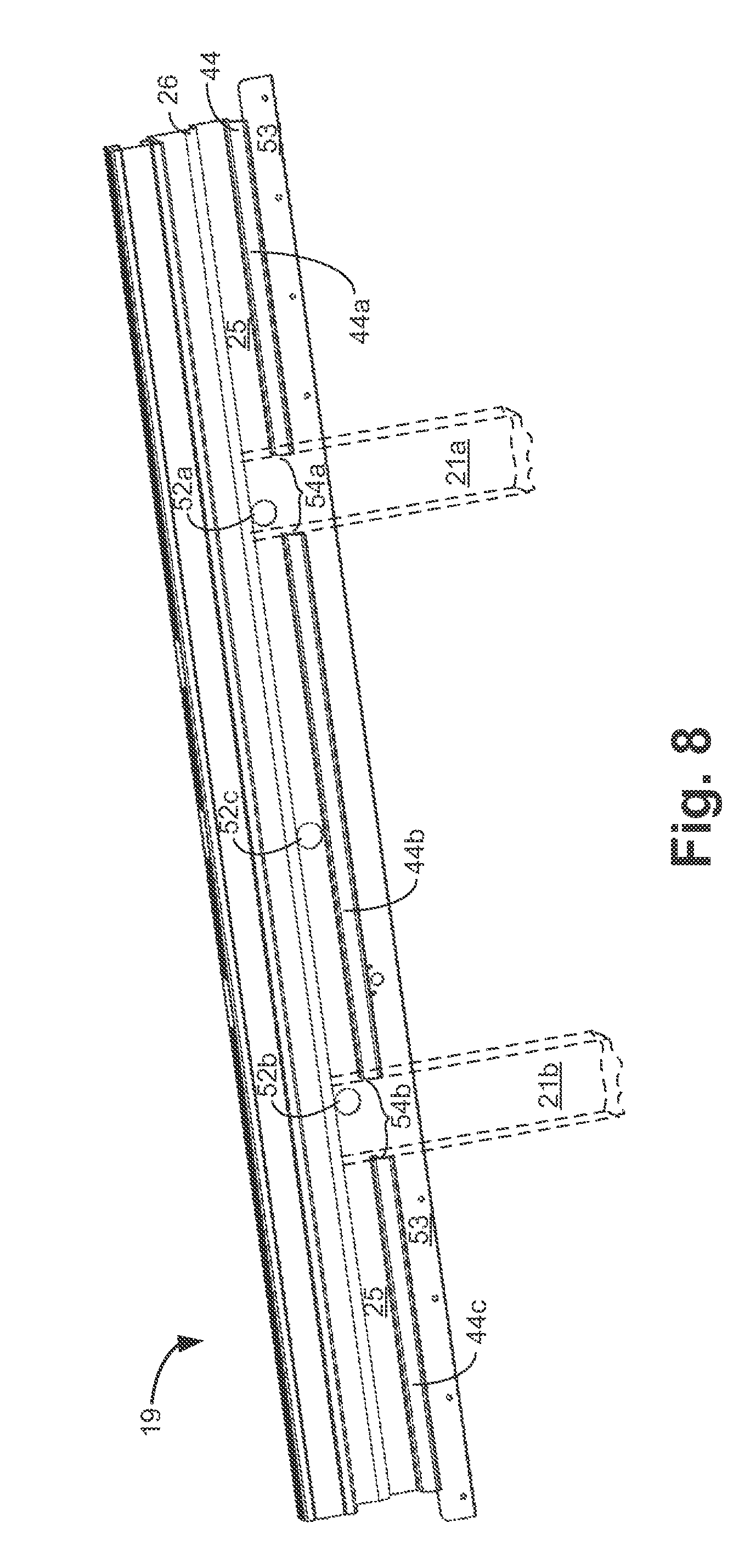 patent us8714792 - light bar and bumper
