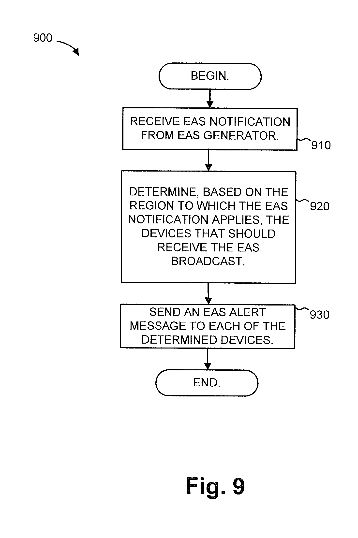 Patent US8745655 - Emergency alerts during playback of video streams