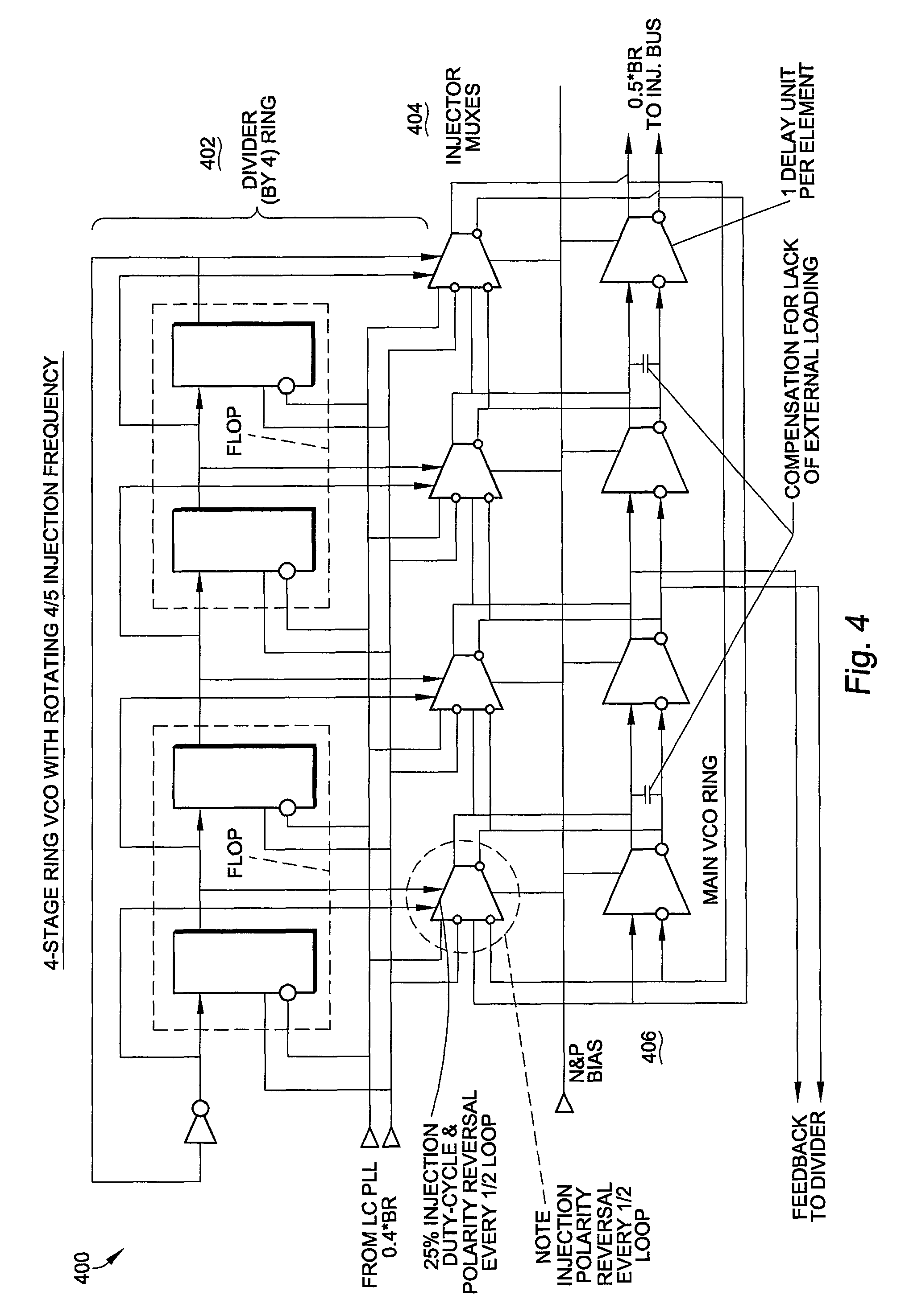Patent Us8754682 Fractional Divider For Avoidance Of Lc Vco 2 Mhz Frequency Standard With Dividers Drawing