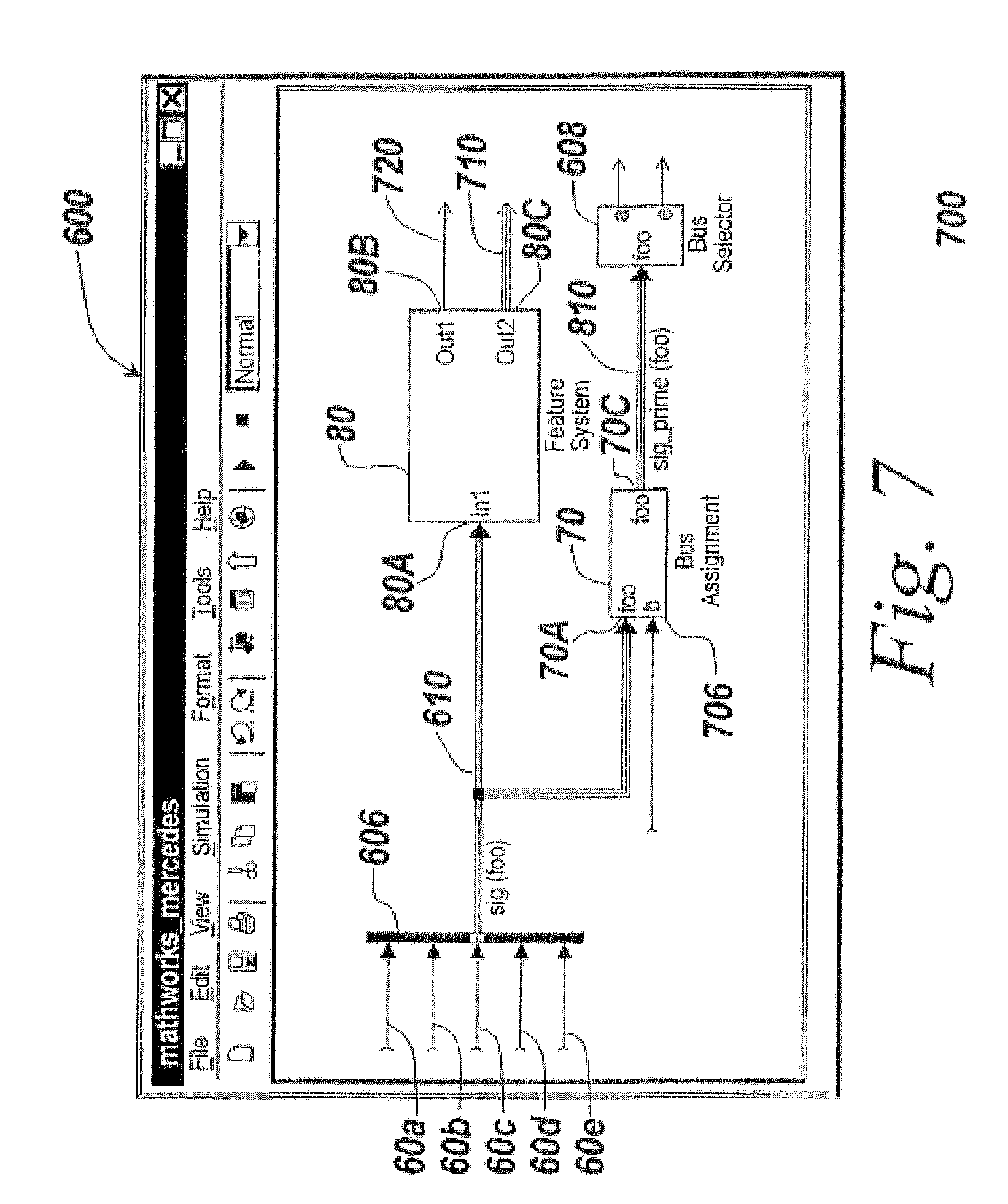 Patent US8768676 - Simplified data signal support for diagramming