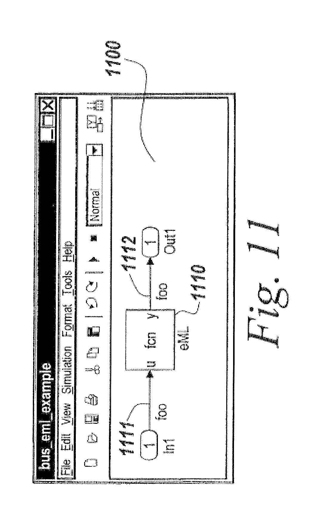 Patent US8768676 - Simplified data signal support for