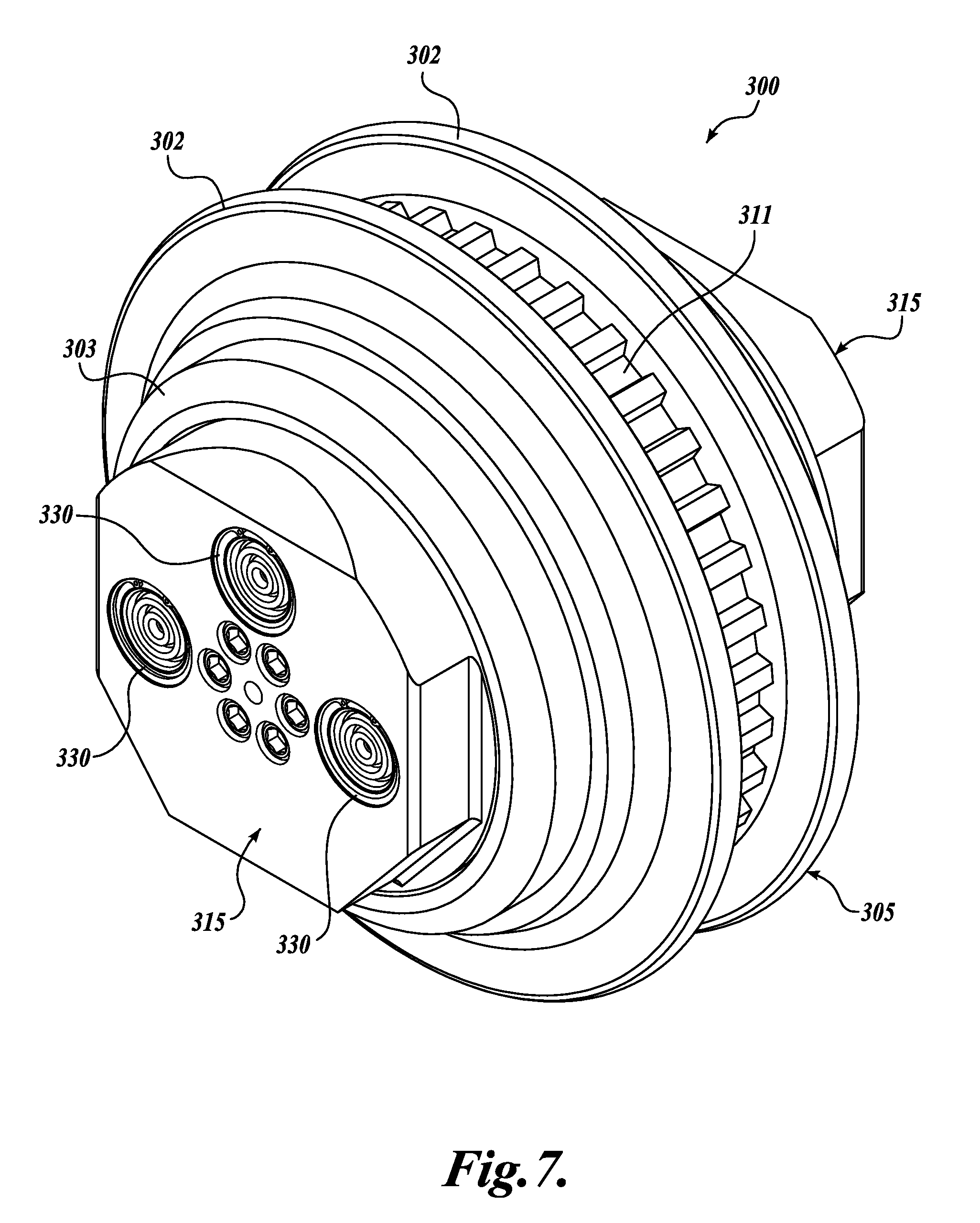 patent us8783786 - cutter assembly for tunnel boring machine with pressure compensation