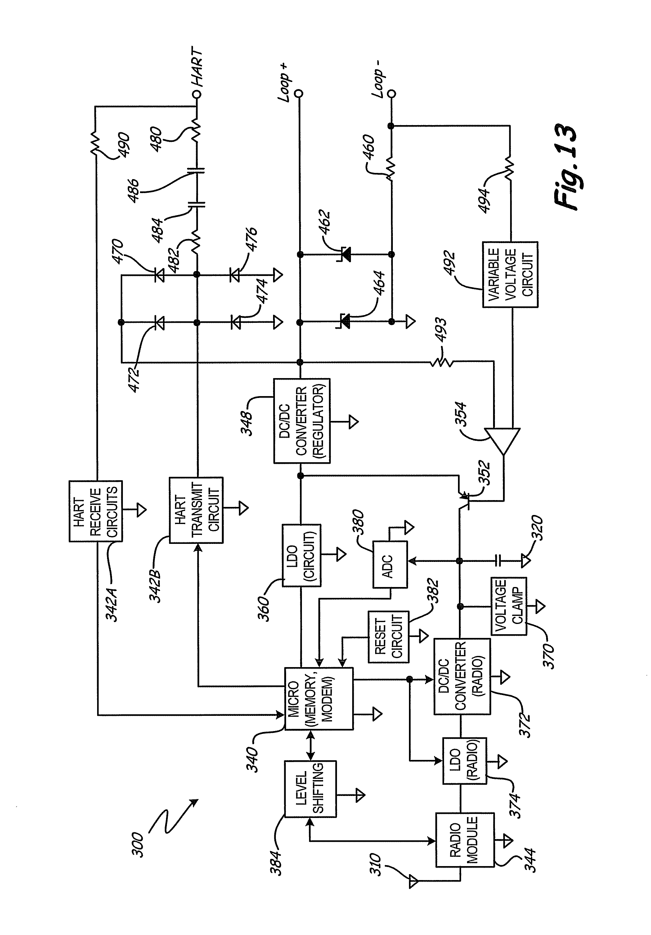 Patent Us8787848 Rf Adapter For Field Device With Low Voltage Circuit Used On Cnc Cutting Machine Communicationcircuit Drawing