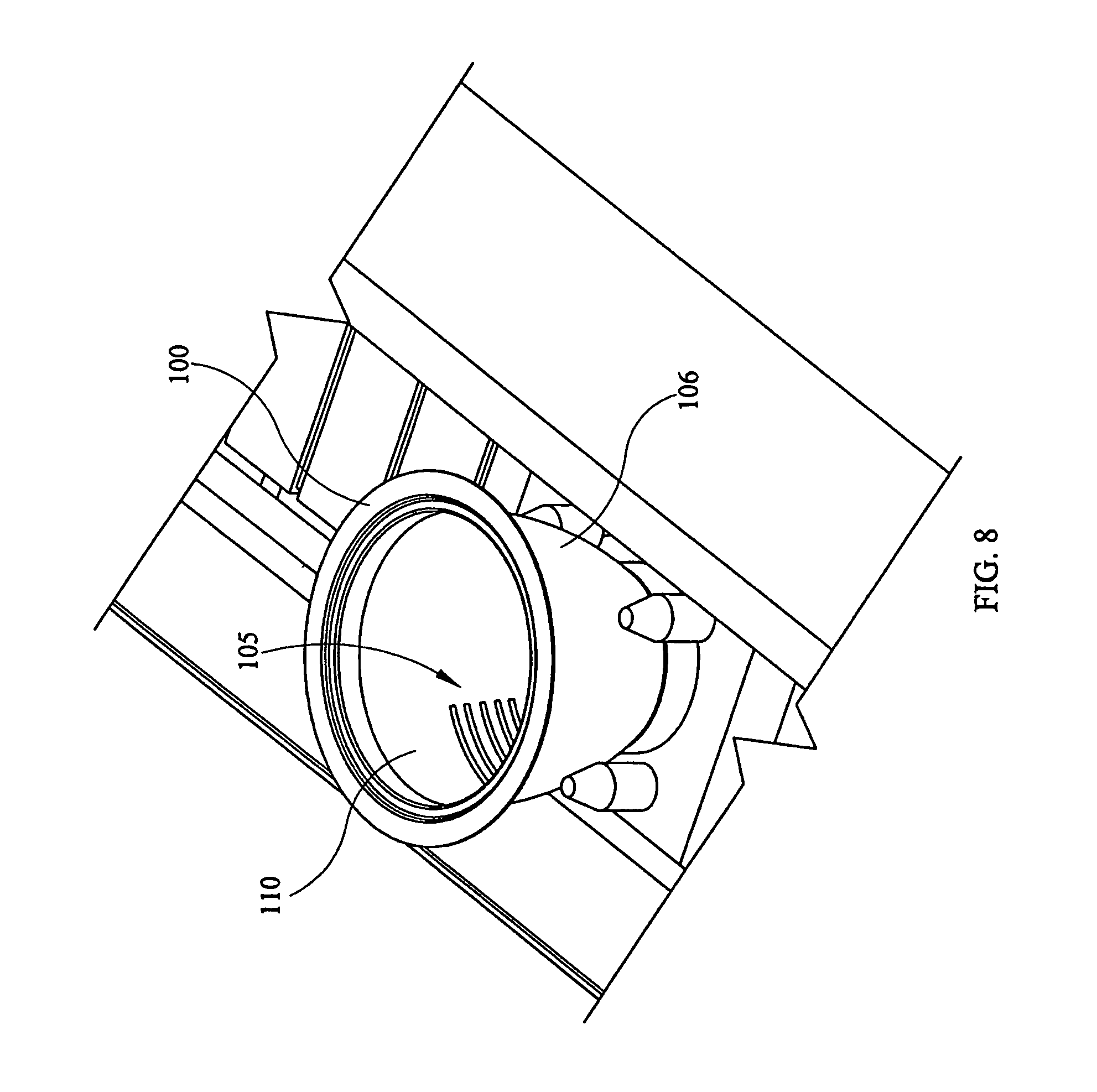 Patent Us8803028 Apparatus For Etching Multiple Surfaces