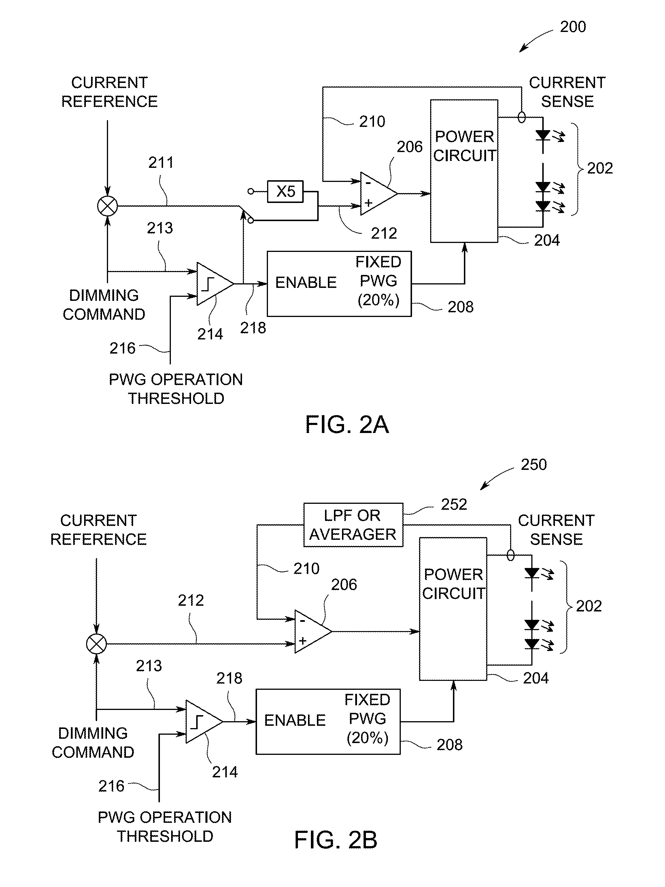 Patent Us8816604 Dimming Control Method And Apparatus For Led Dimmers Circuits Circuit Pwm 555 Dimmer Drawing