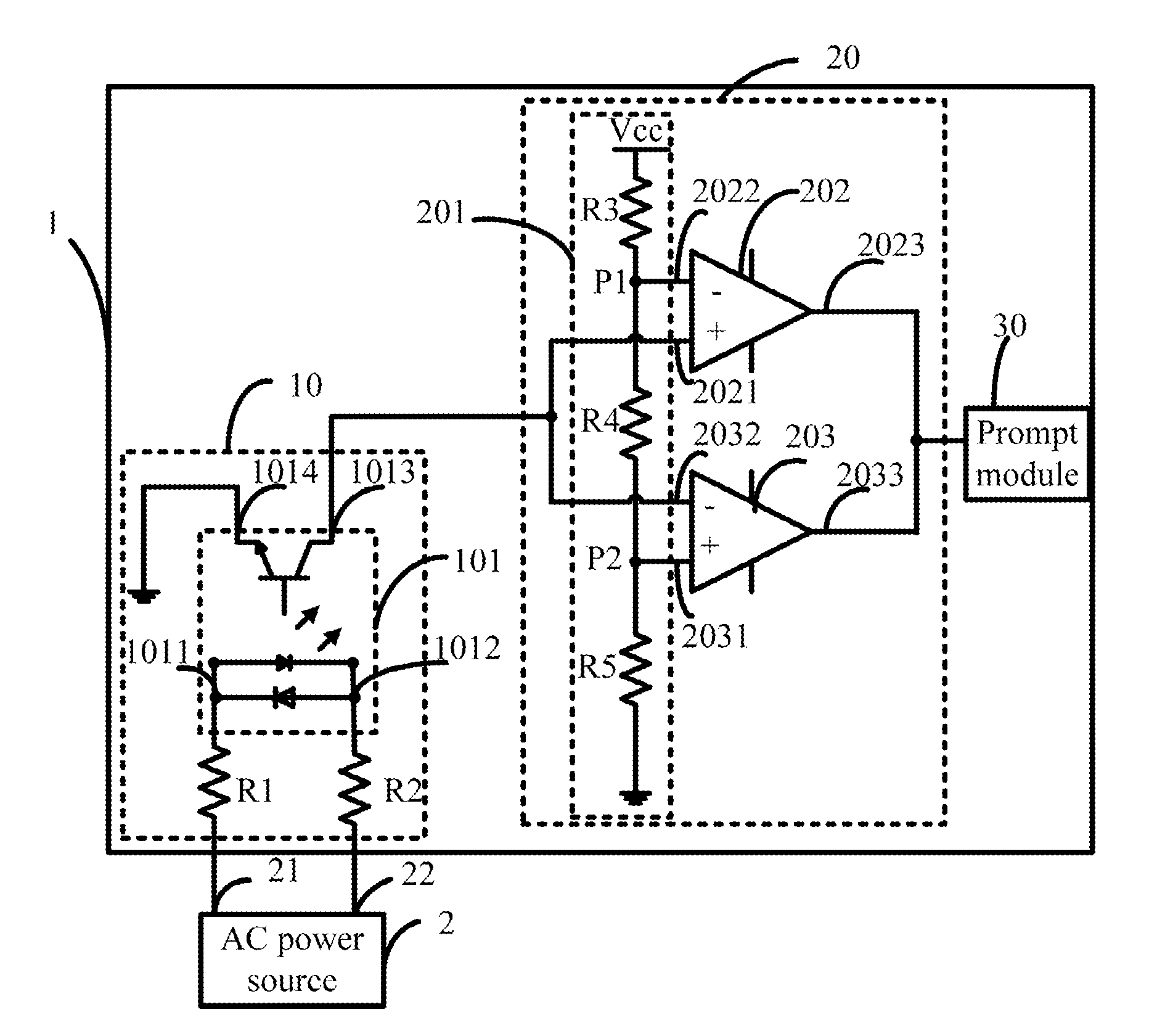 Patent Us8829921 Alternating Current Voltage Detection Circuit Circuits Drawing