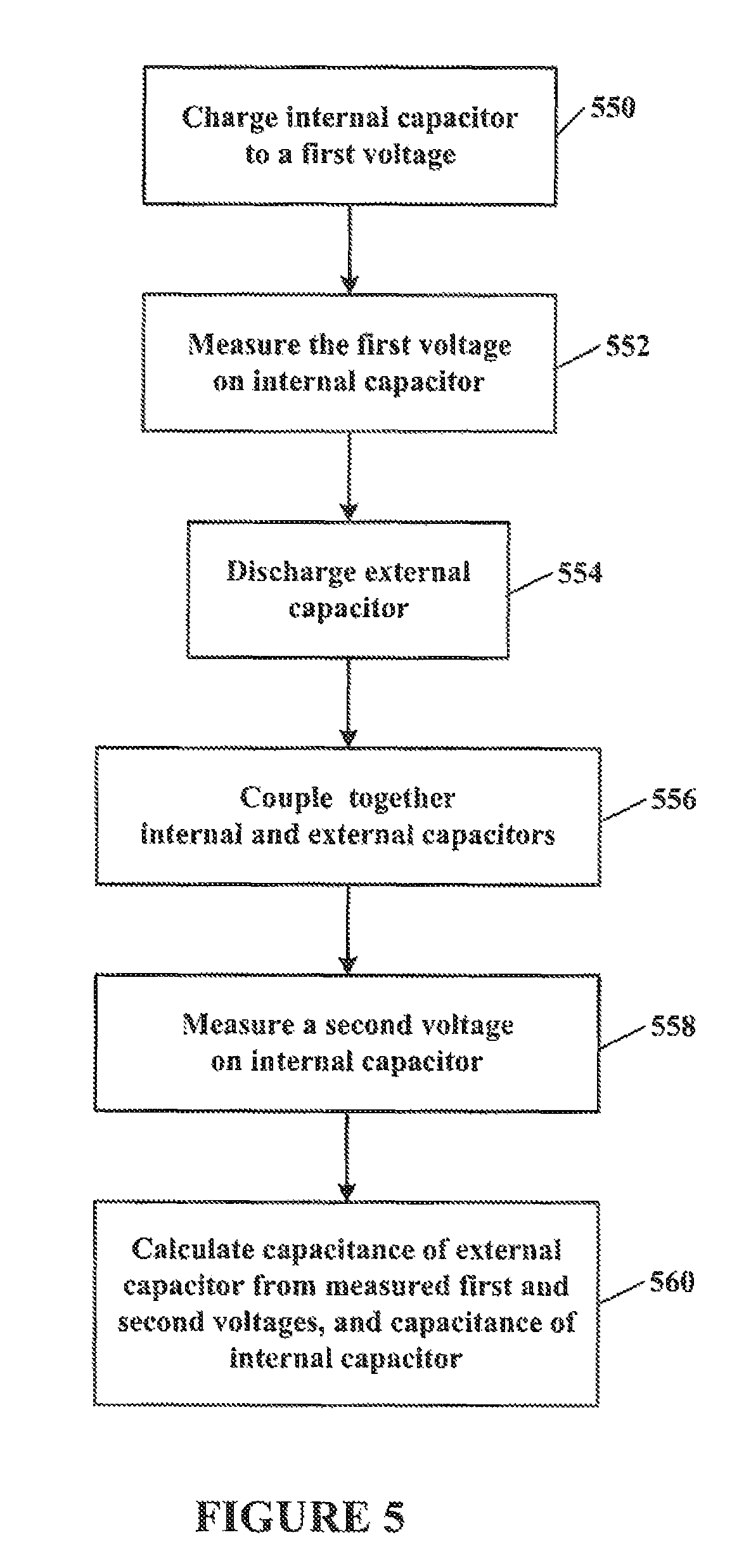 Patent Us8836350 Capacitive Touch Sensing Using An Internal Potential Divider Circuit Drawing