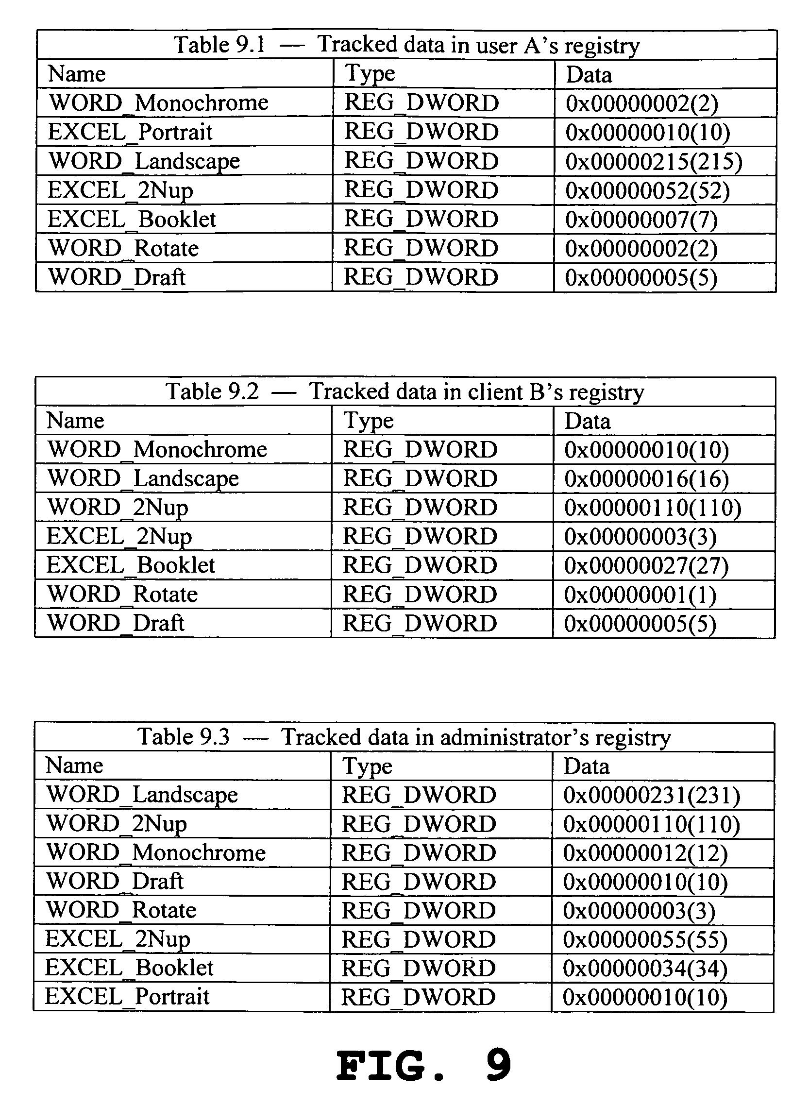 براءة الاختراع US8842312 - Application-based profiles of printer