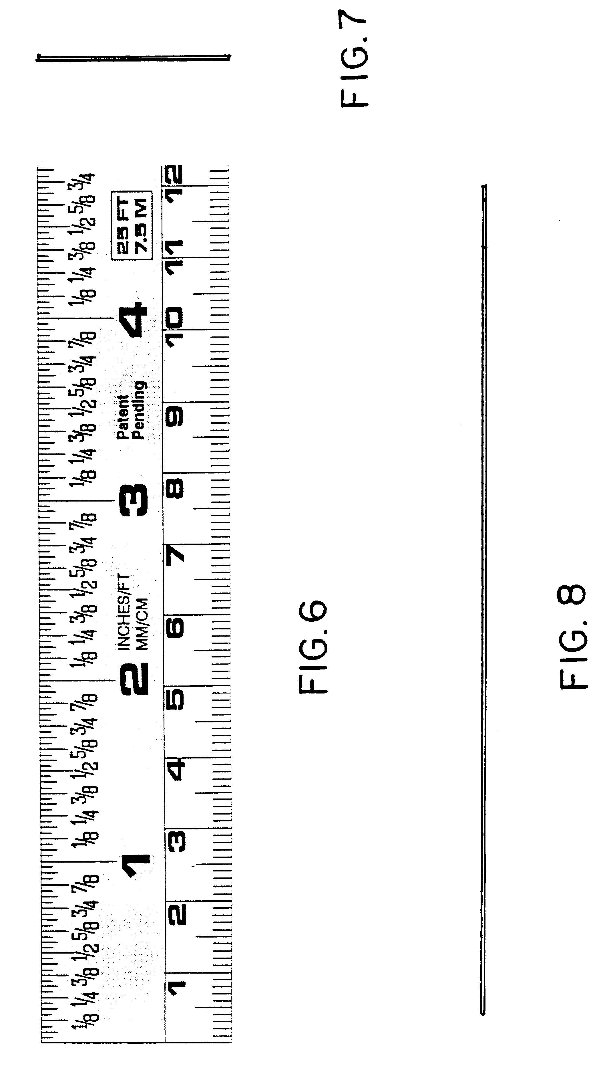 worksheet Measuring Tape Fractions patent usd439531 sae and metric measuring tape with fractional drawing