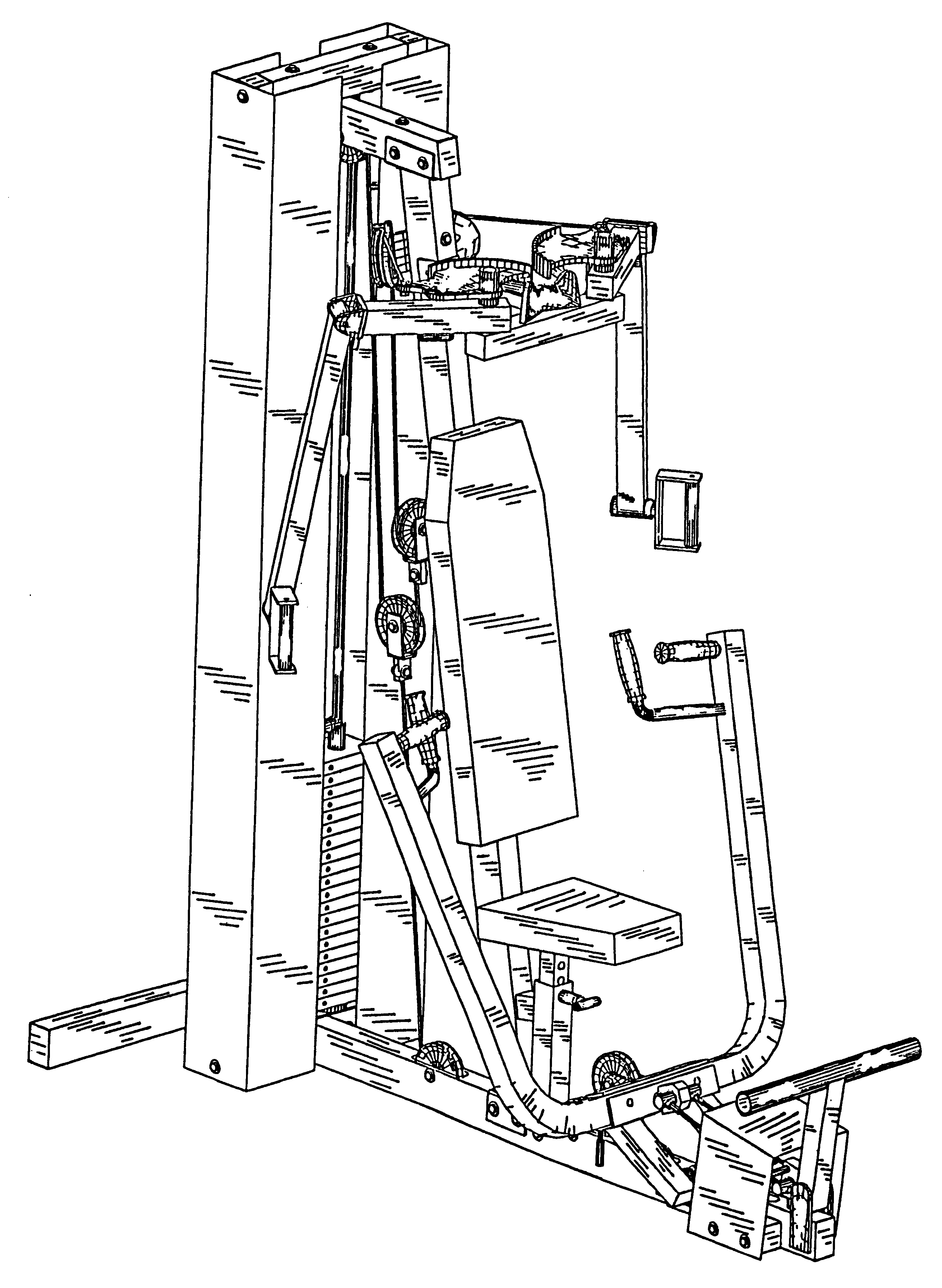 Patent Usd439941 Chest Press And Pec Fly Exercise