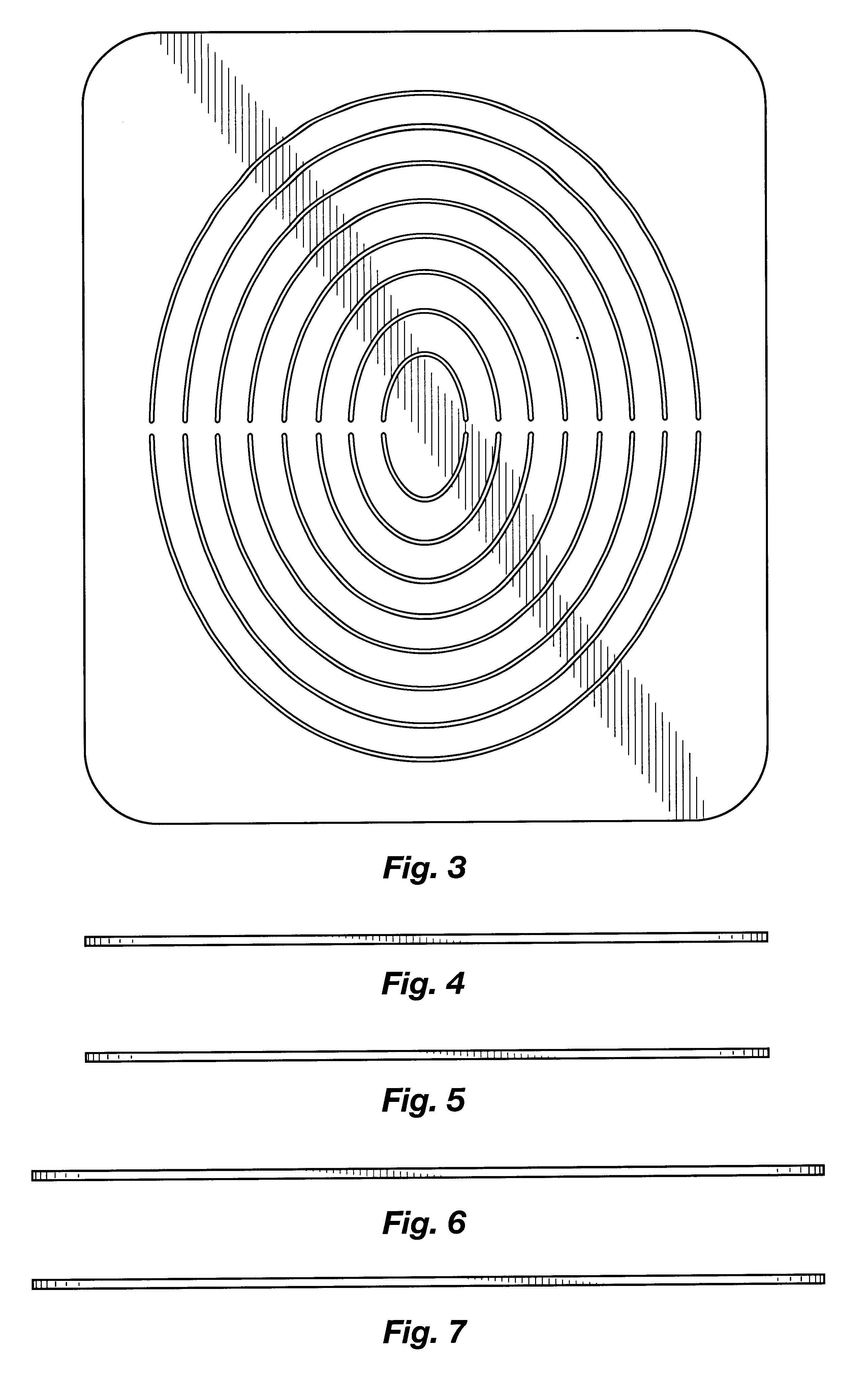 patent specification template - patent usd448801 oval cutting template google patents