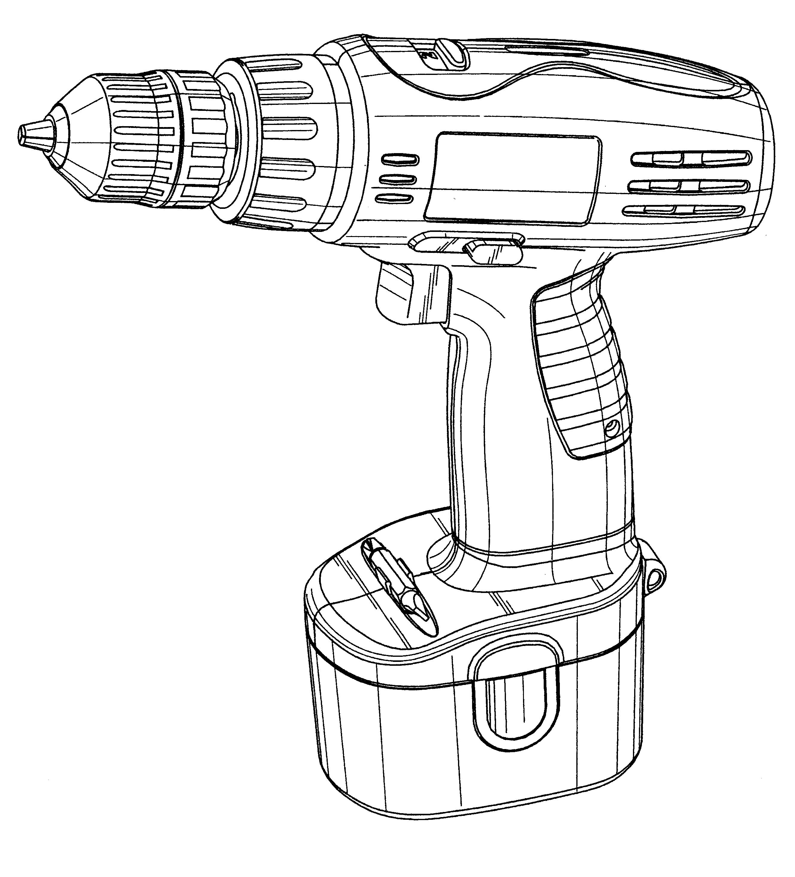 patent usd460674 - electric drill