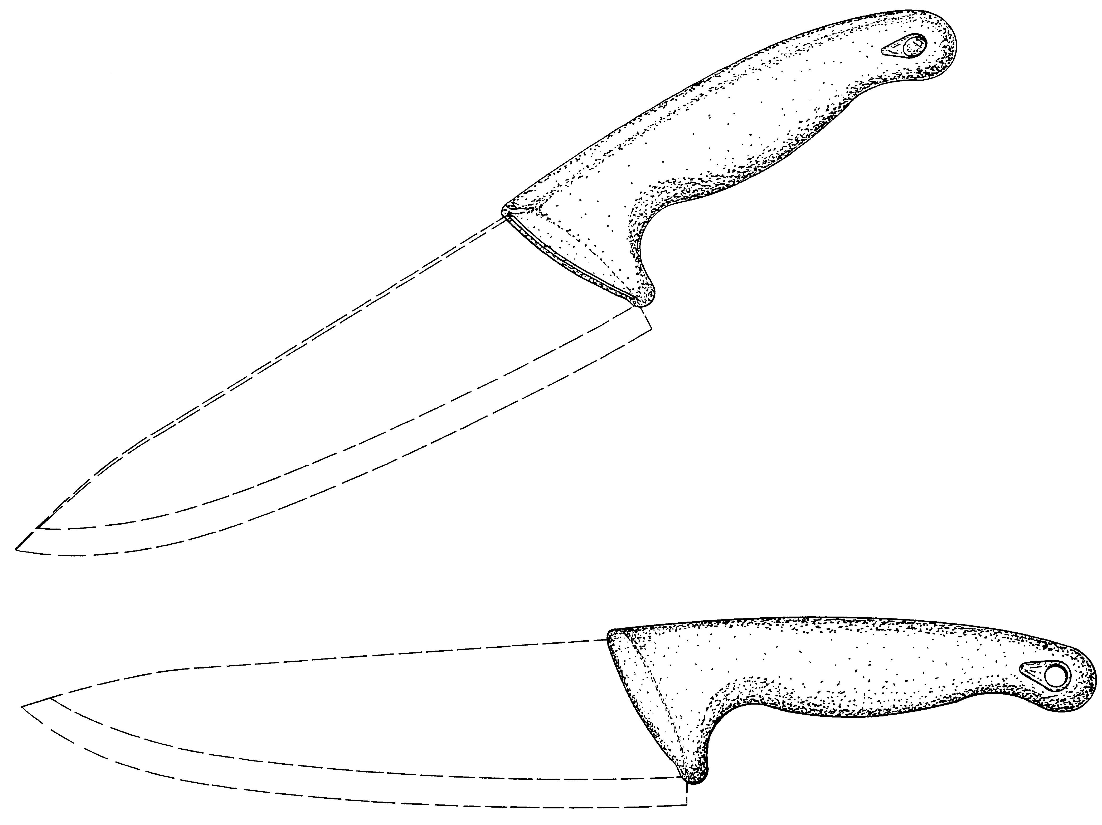 Картинки карандашом ножи