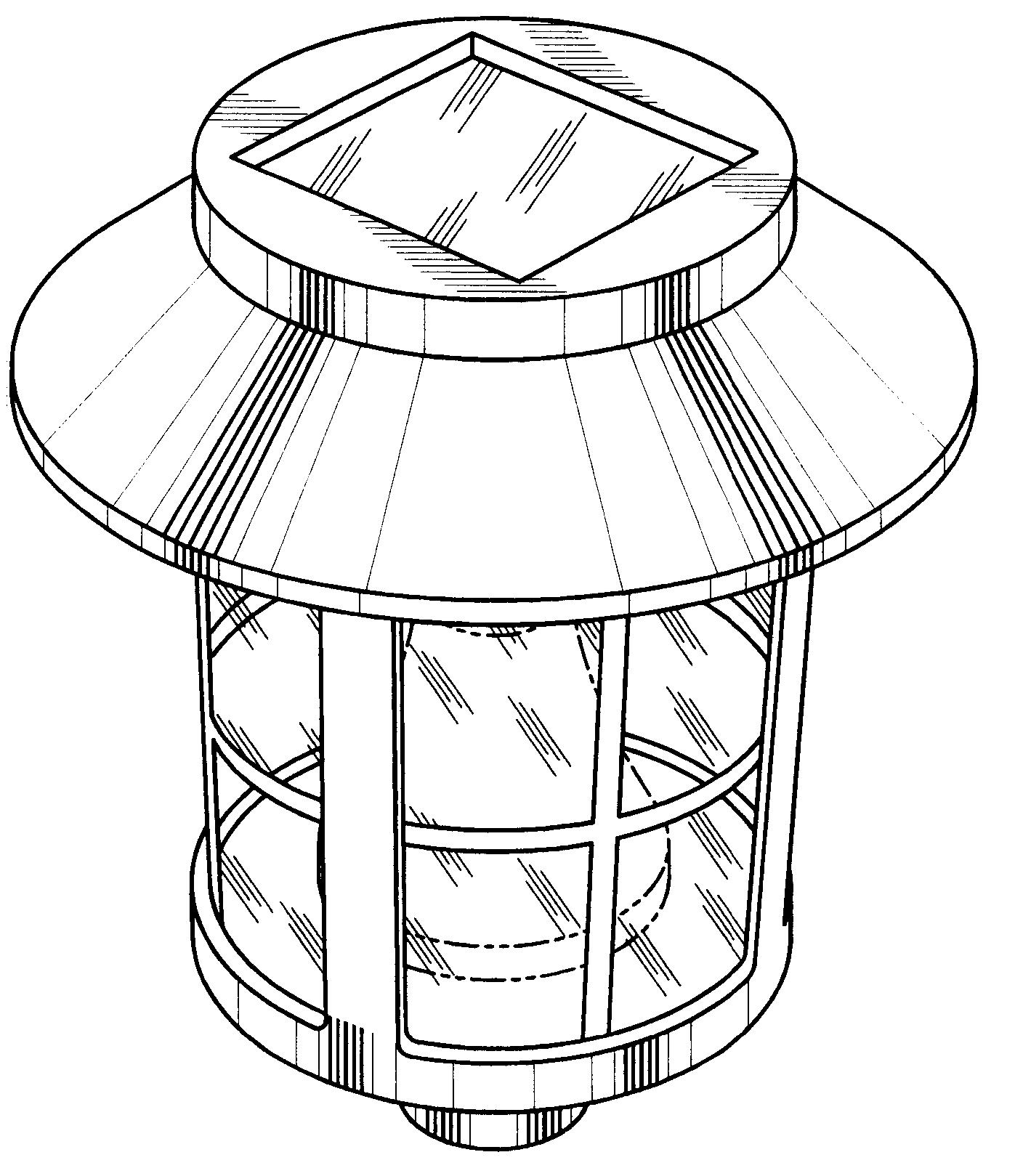 patent usd485930 - solar light