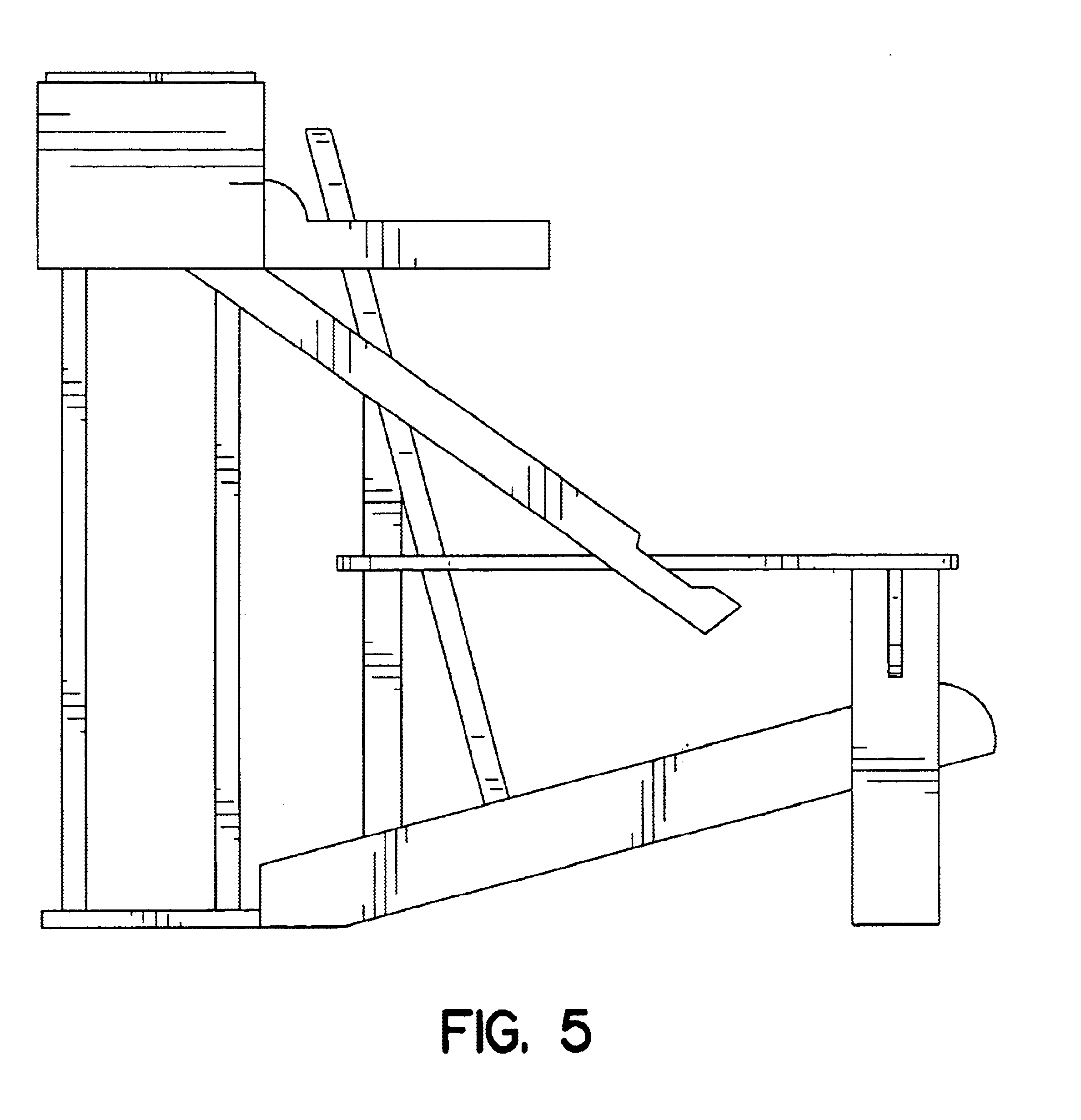 Patent USD bined beer dispensing cooler and lawn chair
