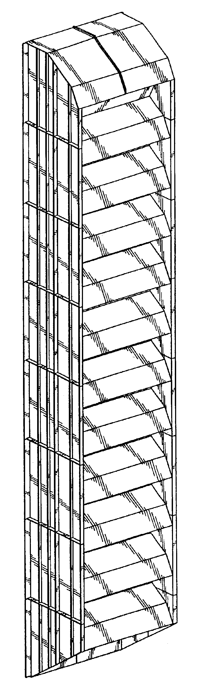 Patent USD Inlet air filter hood module for gas turbine