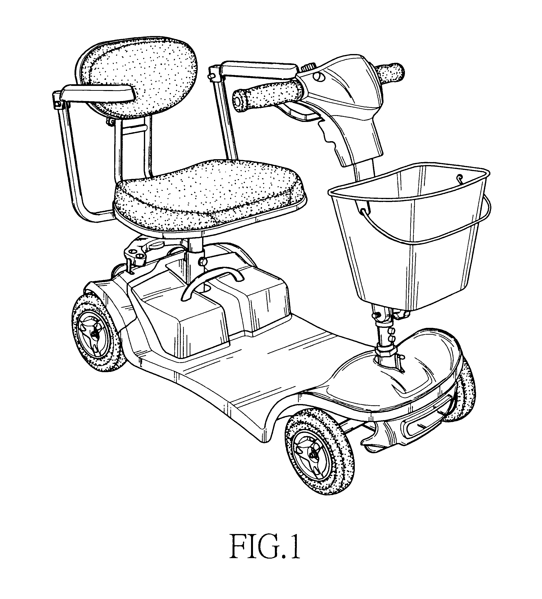 patent usd517456 - electric mobility scooter
