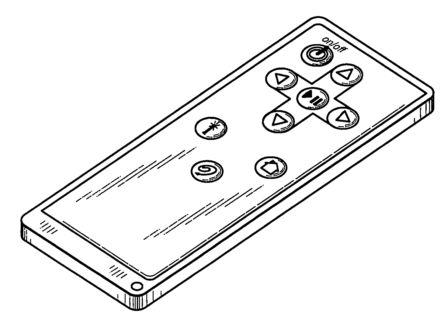 patent usd557666 - remote control