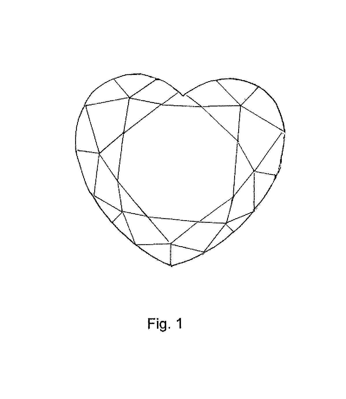 patent usd567137 heart shaped diamond or similar article