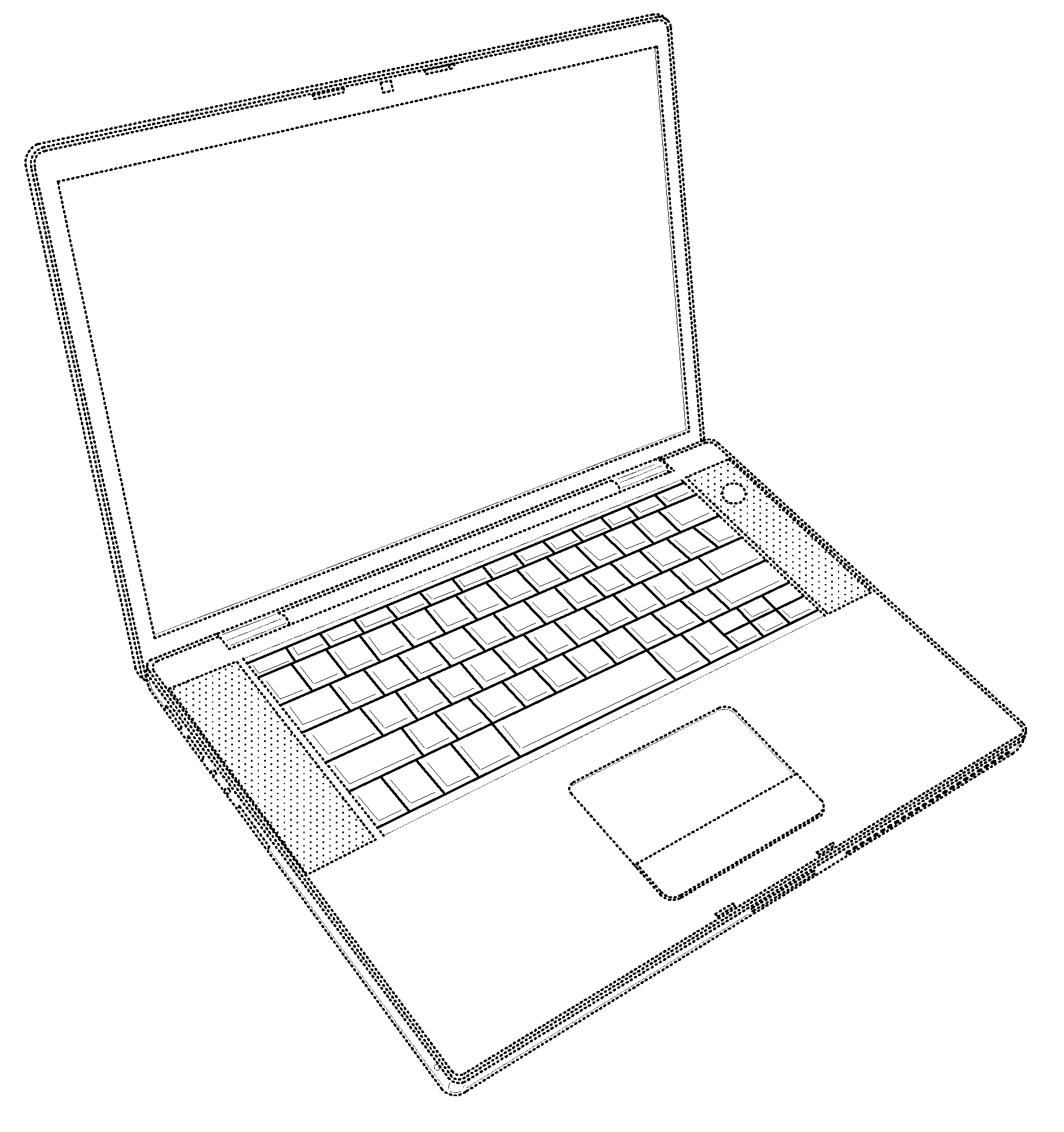 Apple  patent by Steve Jobs from 2008 for computing device - USD571364