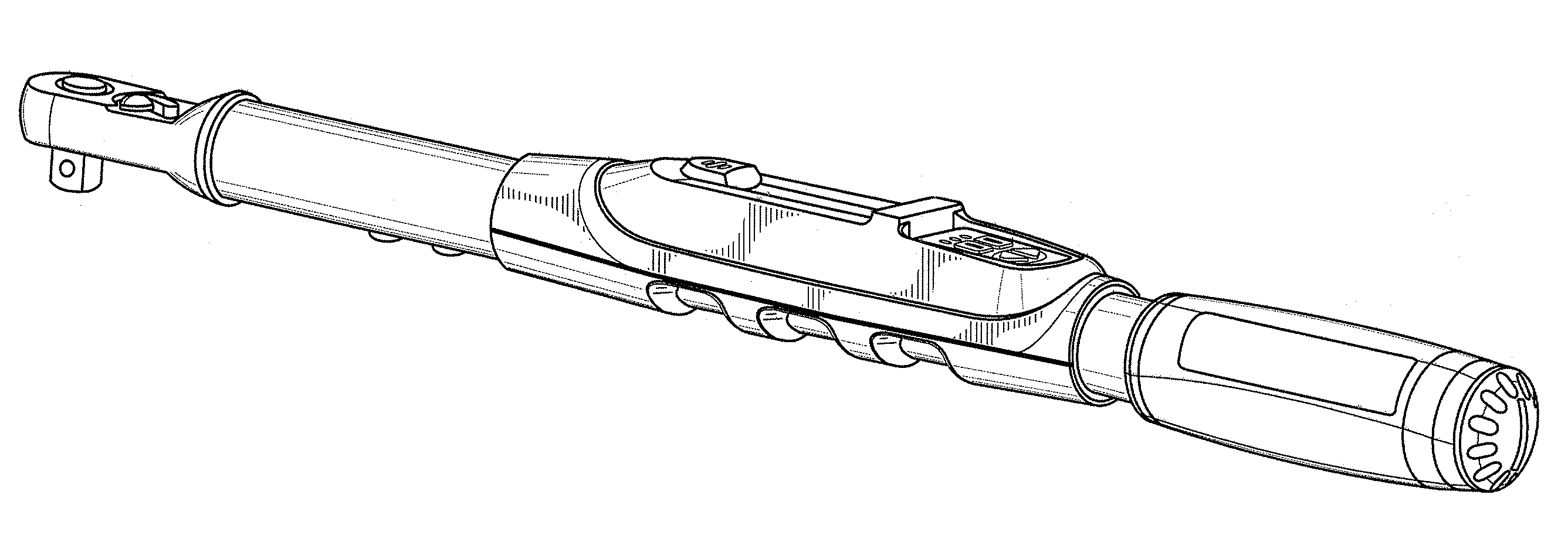 Patent USD586193 - Electronic torque wrench - Google Patents