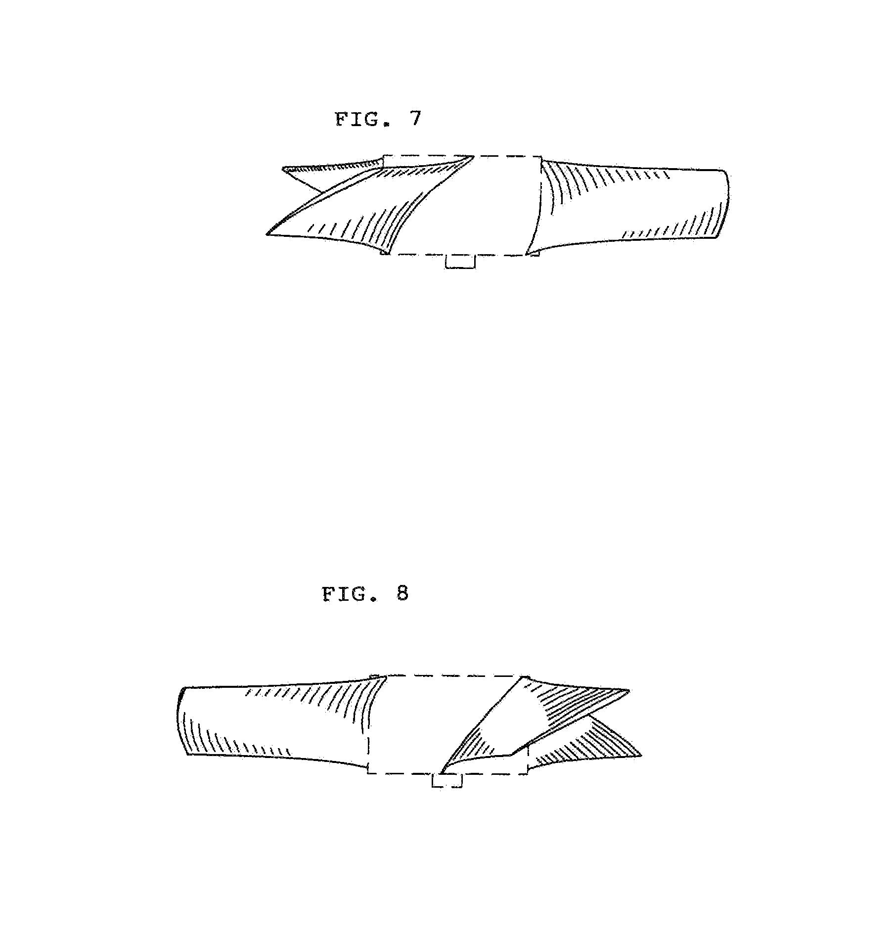 Fan Blade Drawing : Patent usd fan blade google patents